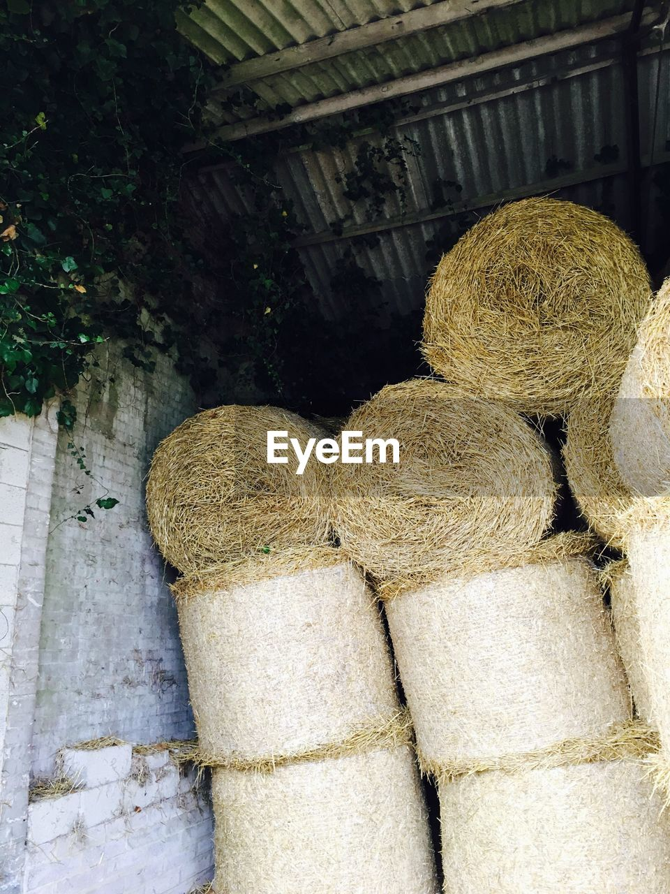 no people, outdoors, hay bale, day, stack, close-up, nature