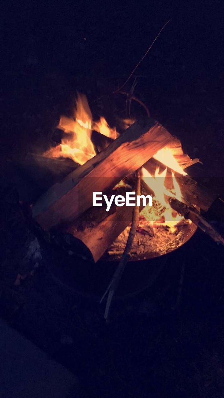 flame, burning, heat - temperature, night, bonfire, no people, motion, campfire, wood - material, outdoors, nature, close-up