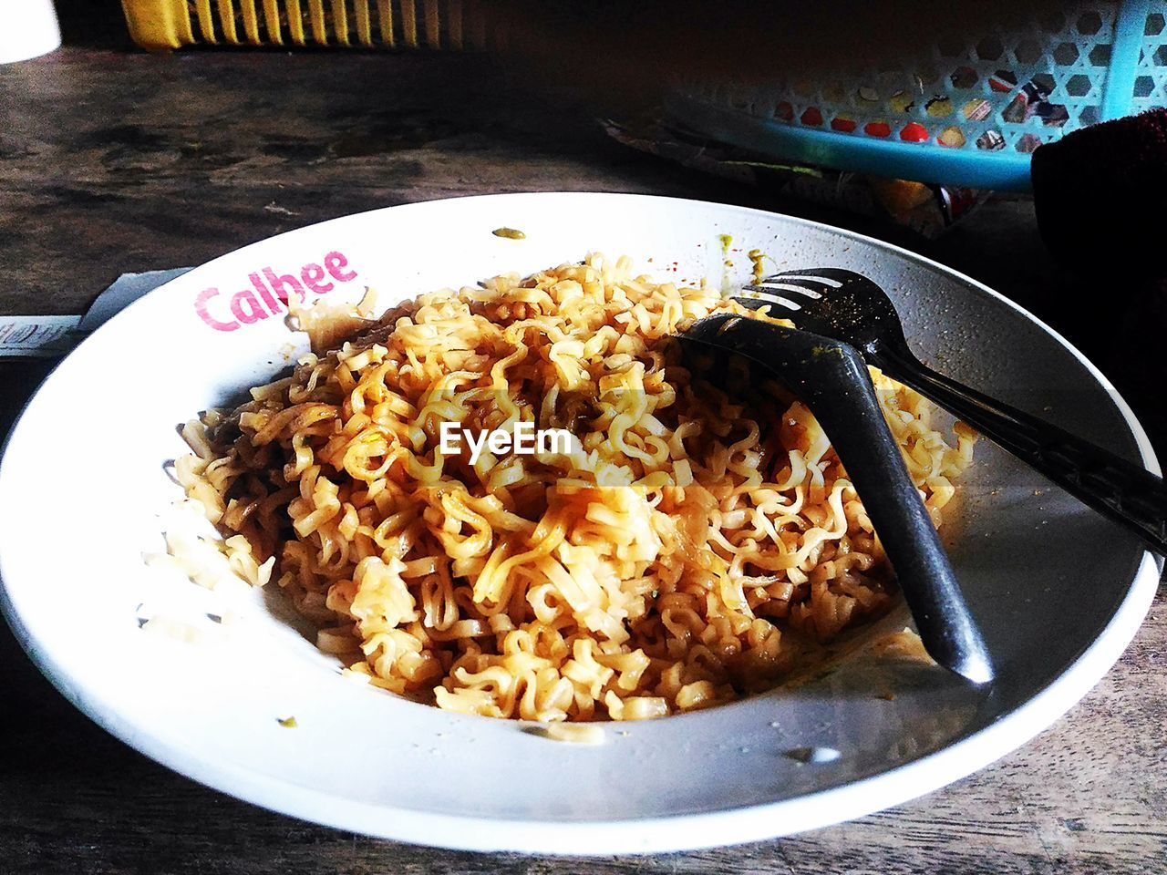 food and drink, food, plate, indoors, table, no people, freshness, bowl, breakfast, healthy eating, serving size, ready-to-eat, close-up, fork, fried rice, day
