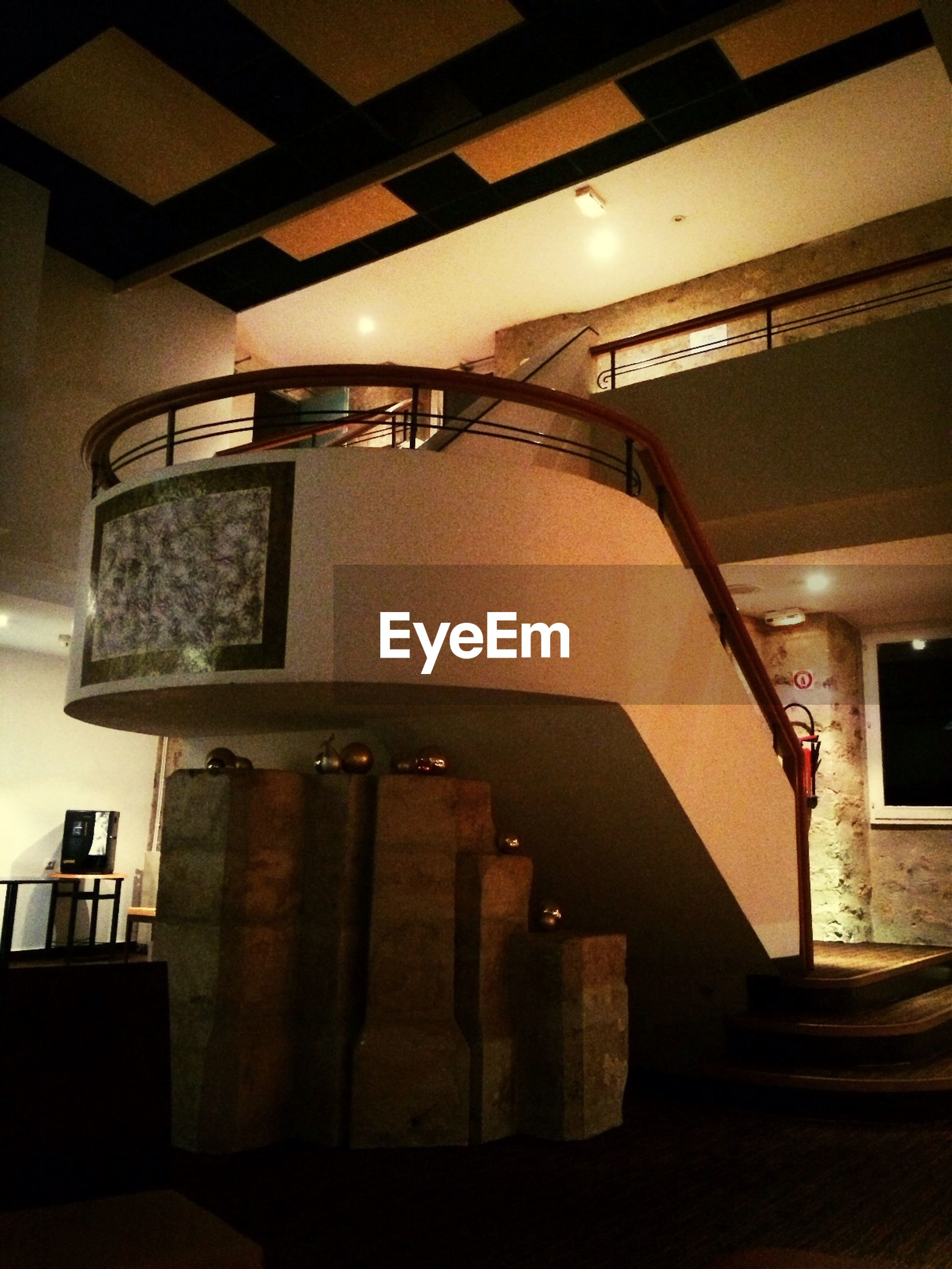 indoors, illuminated, architecture, built structure, home interior, lighting equipment, steps, staircase, wall - building feature, building, steps and staircases, no people, absence, interior, house, high angle view, door, empty, window, light - natural phenomenon