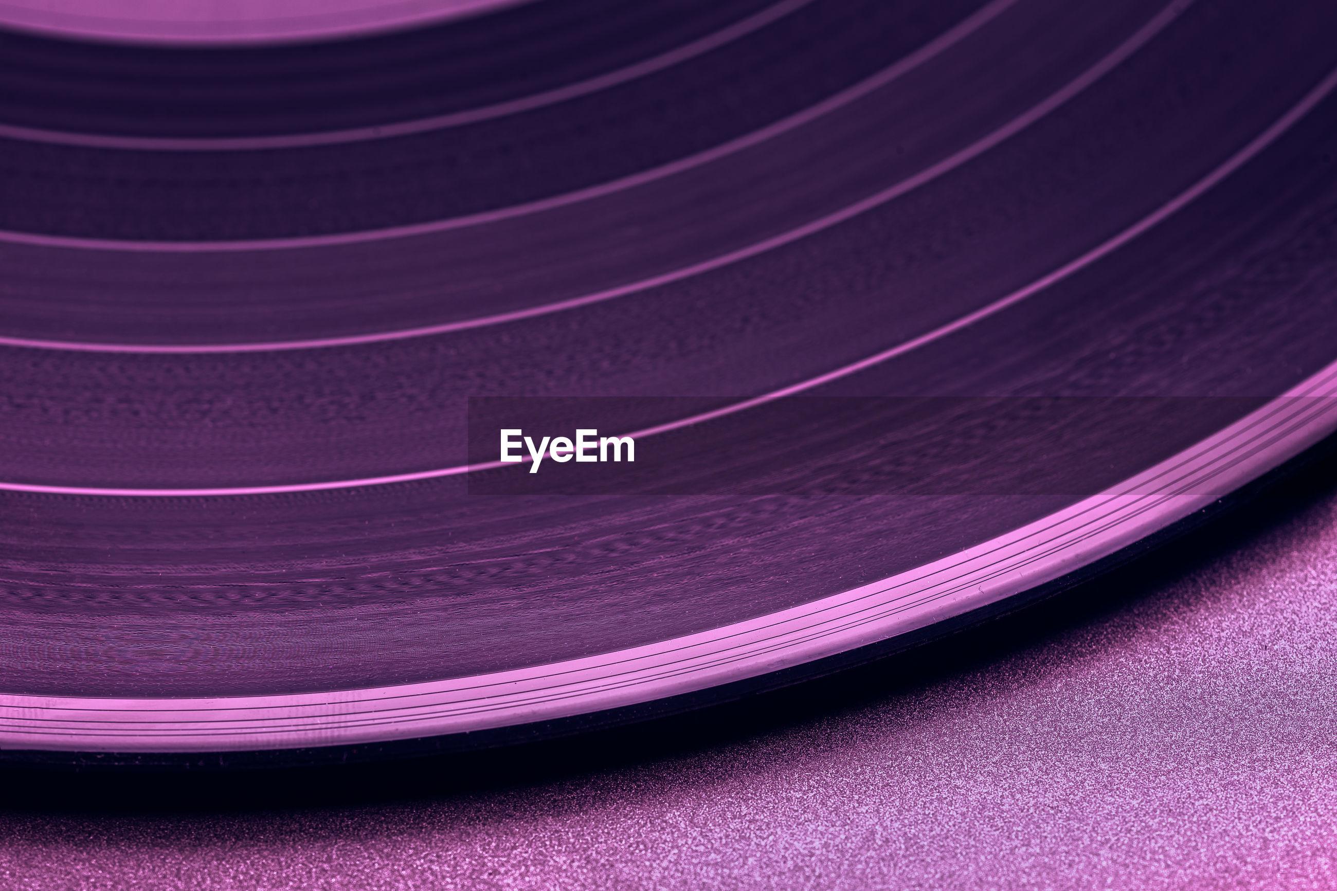 Close-up of purple pattern