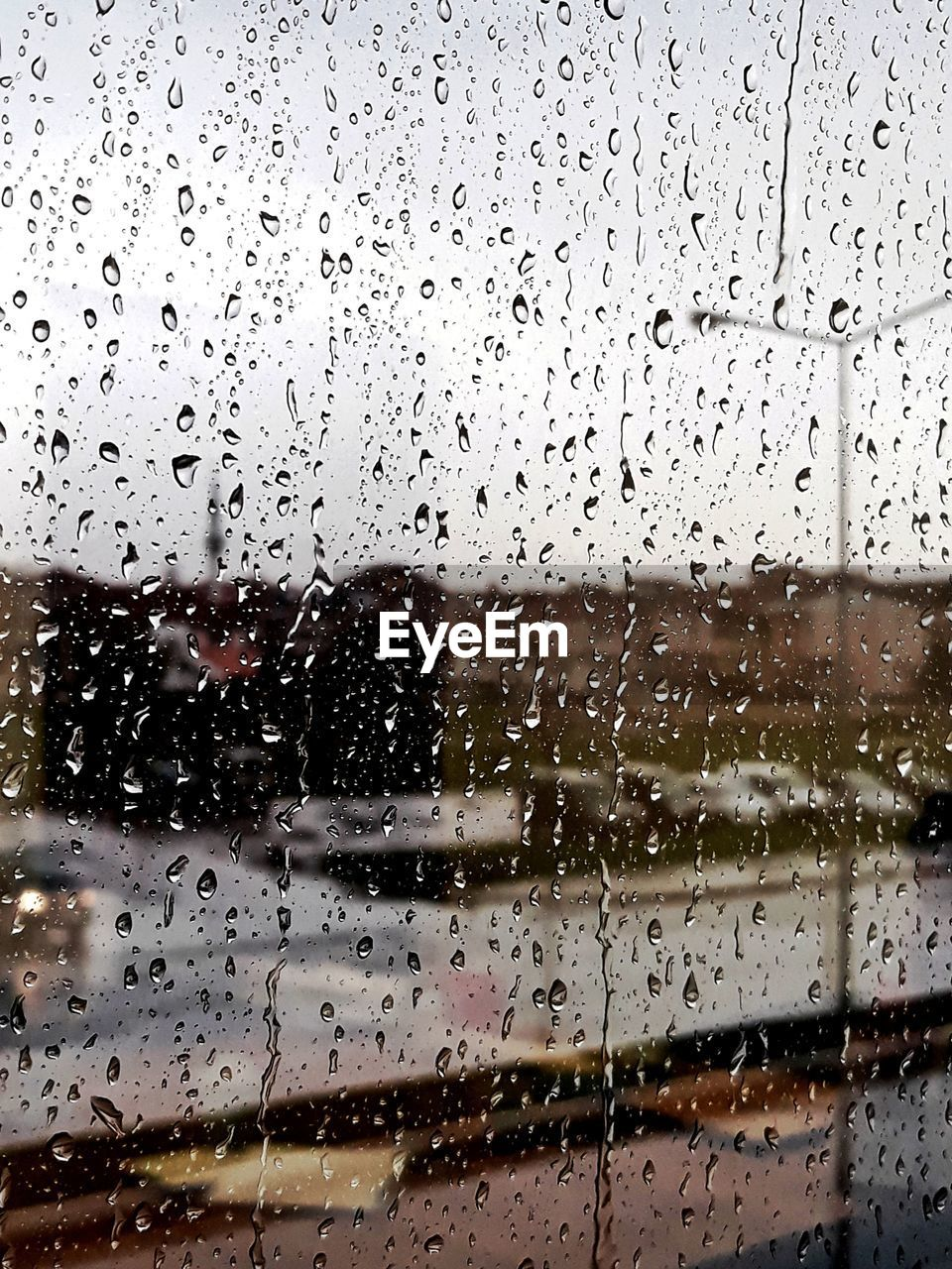 drop, window, wet, no people, indoors, water, full frame, car, backgrounds, land vehicle, raindrop, transportation, day, close-up, sky, nature