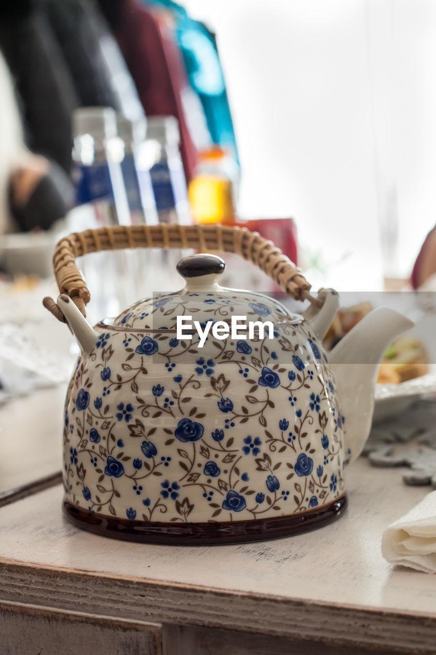 Close Up Of Teapot
