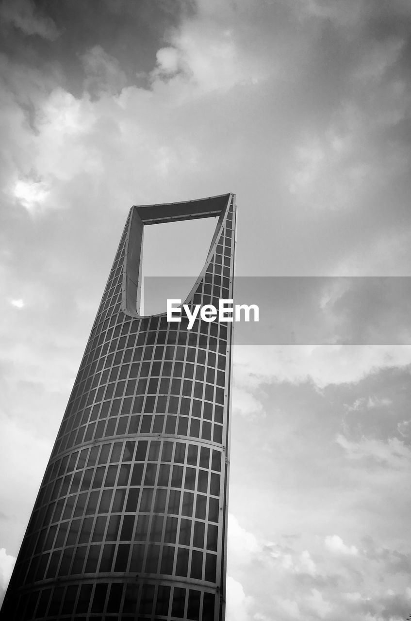 cloud - sky, sky, architecture, low angle view, building exterior, built structure, tall - high, building, office building exterior, nature, office, modern, city, tower, day, no people, sunlight, skyscraper, outdoors, reflection