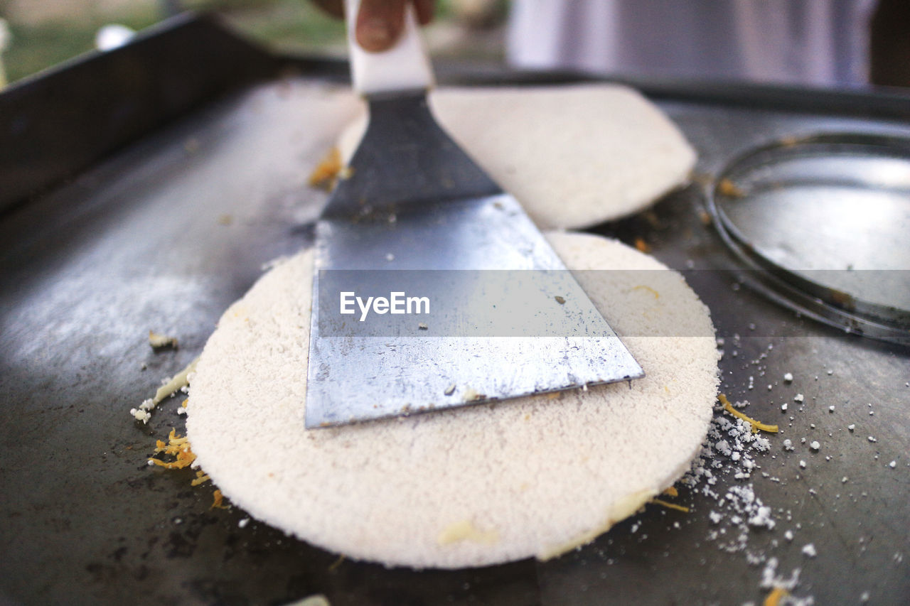 Close-Up Of Food Cooking
