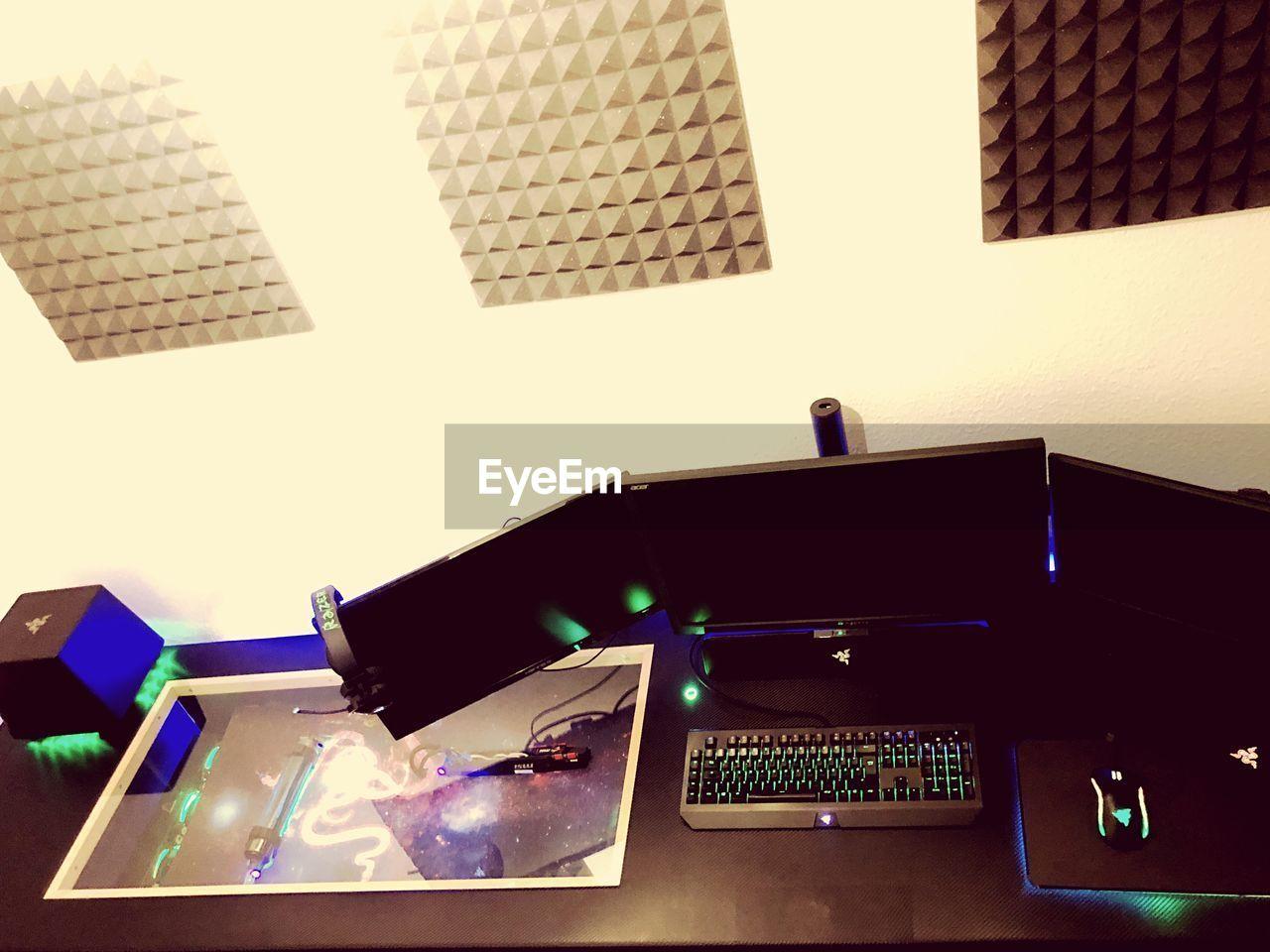 technology, no people, illuminated, indoors, keyboard, close-up, day