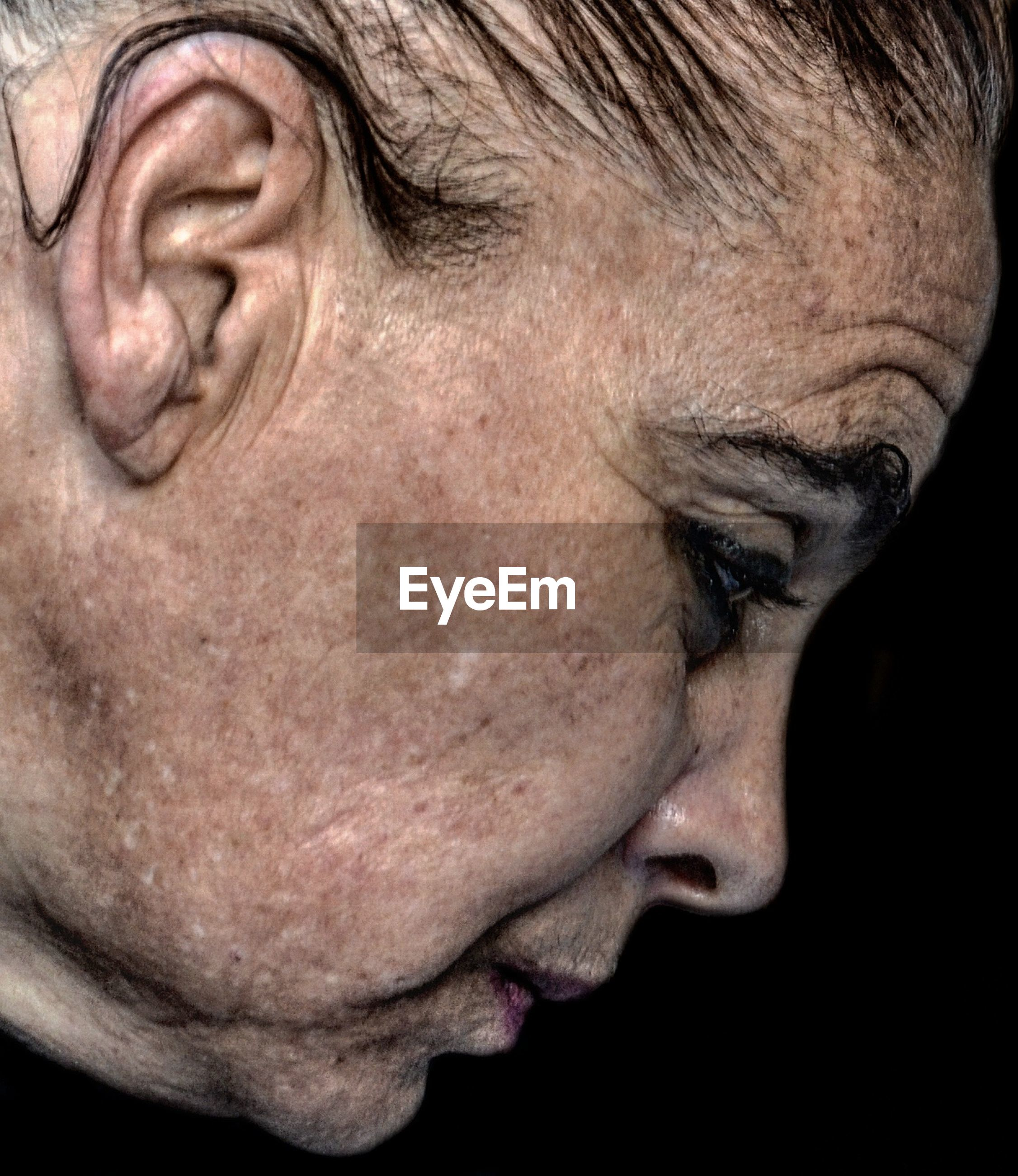 human face, eyes closed, human body part, close-up, one person, depression - sadness, adult, real people, grief, adults only, pain, people, young adult, one man only, only men, human hand, day