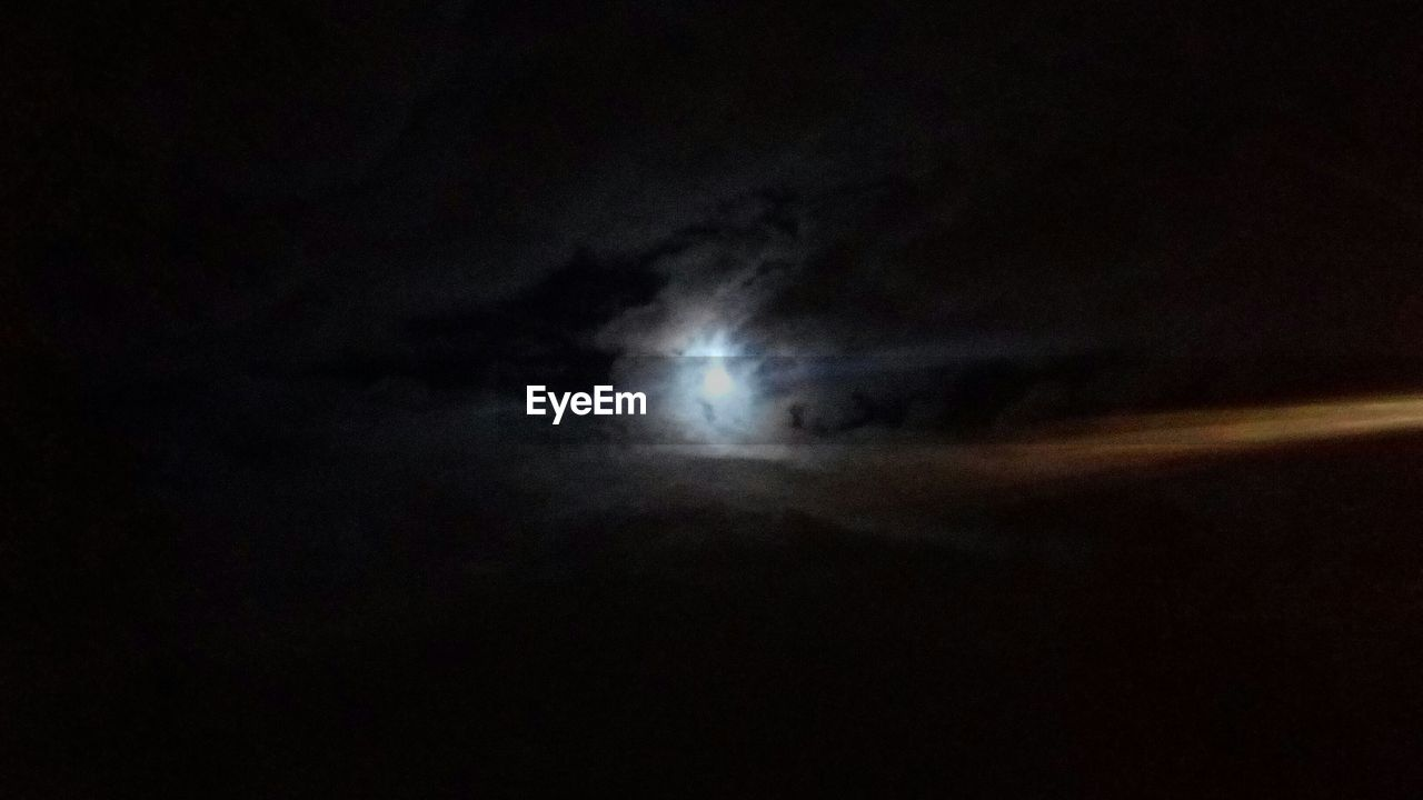 night, moon, nature, sky, scenics, no people, astronomy, cloud - sky, beauty in nature, space exploration, space, outdoors, illuminated, solar eclipse