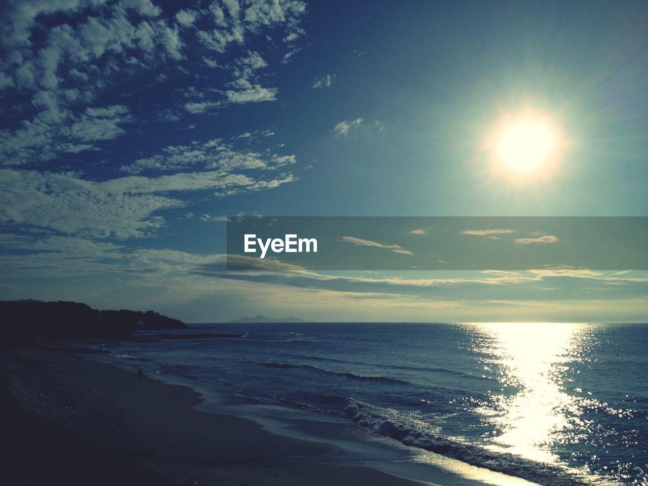 sun, sea, water, nature, sunlight, bright, beauty in nature, scenics, sunset, sky, beach, no people, outdoors