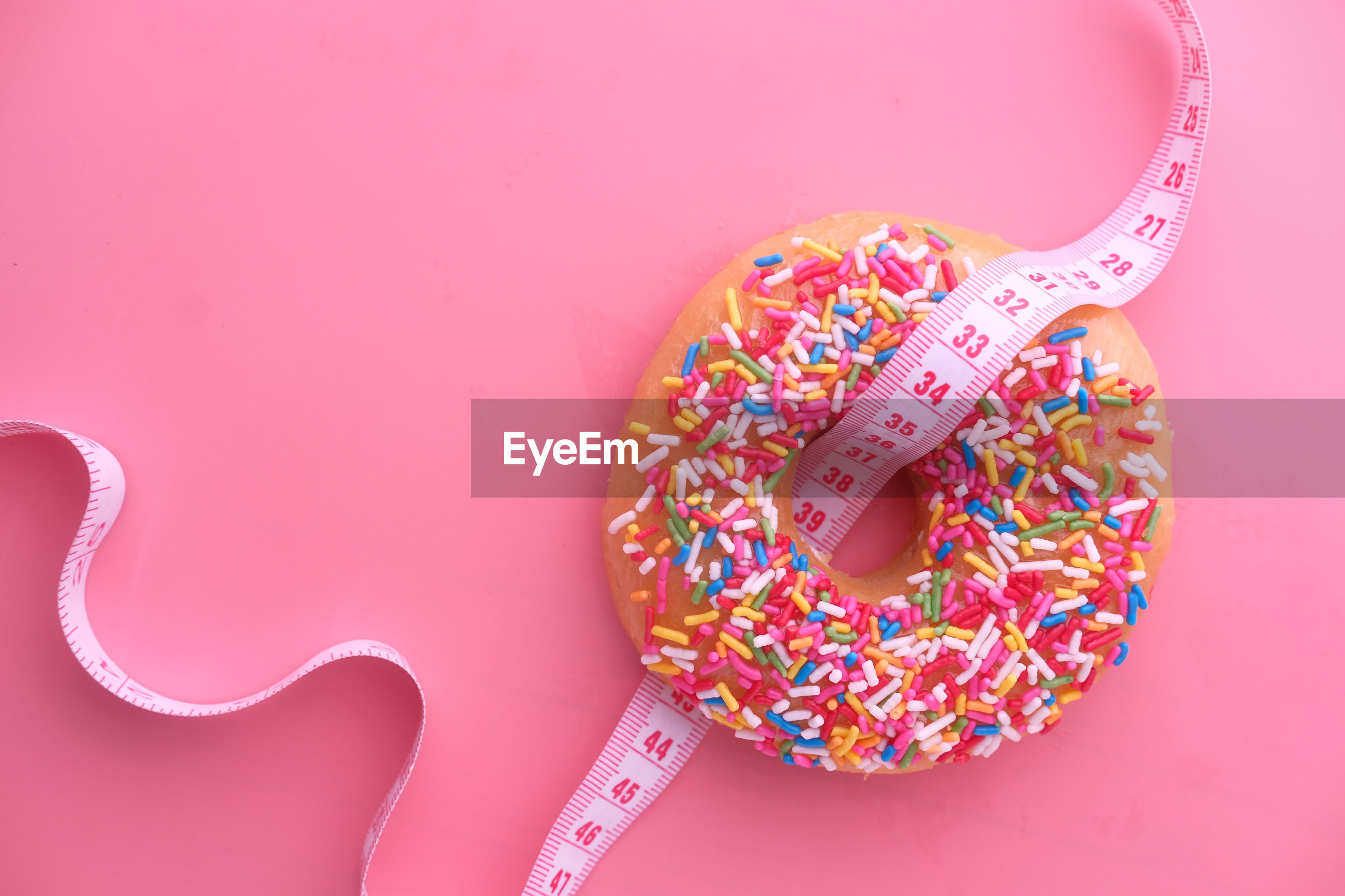 Donuts and measurement tape