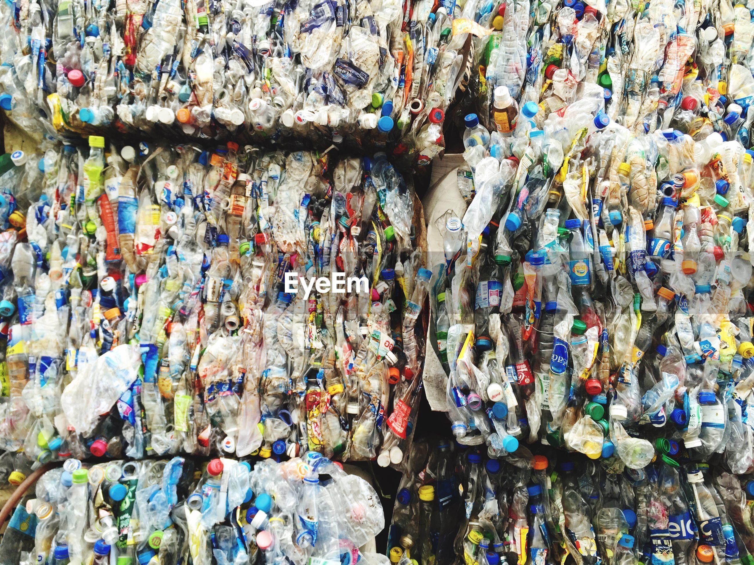 Close-up of garbage