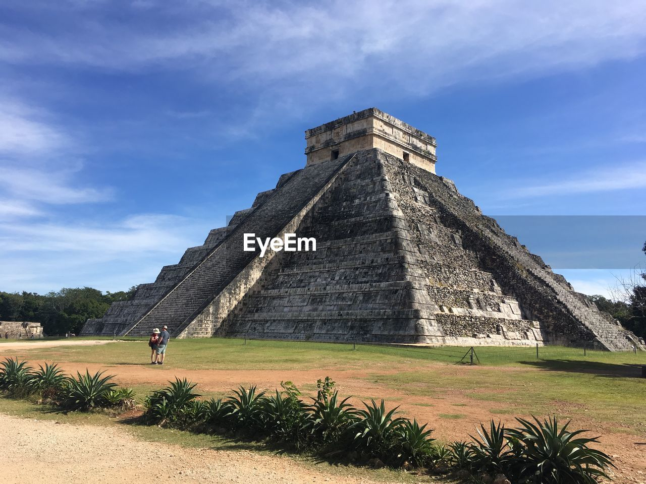 travel destinations, architecture, built structure, history, sky, pyramid, the past, ancient civilization, travel, ancient, tourism, building exterior, cloud - sky, nature, day, place of worship, archaeology, incidental people, outdoors