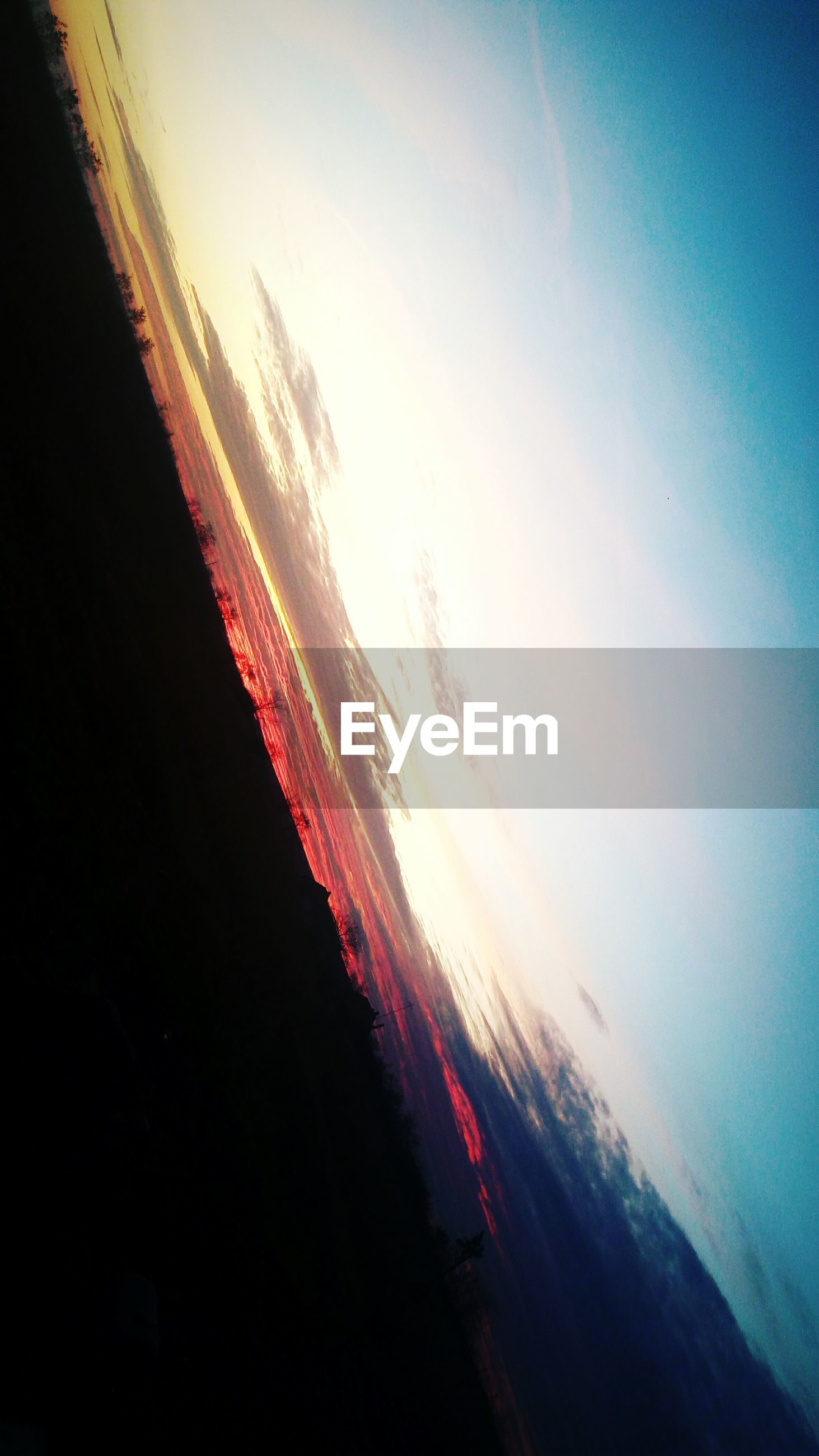 sky, water, sunset, no people, wet, cold temperature, nature, low angle view, ice, close-up, outdoors, day