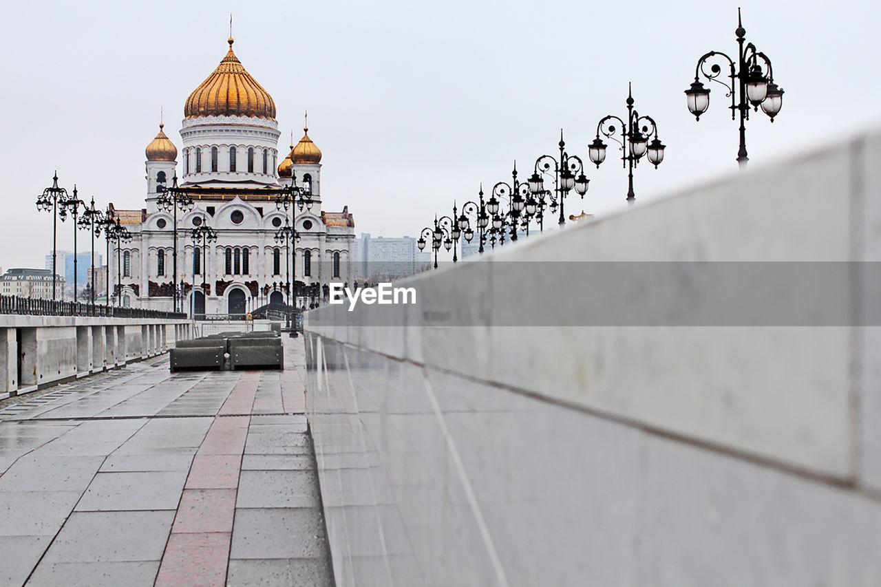 Temple of christ the saviour against sky