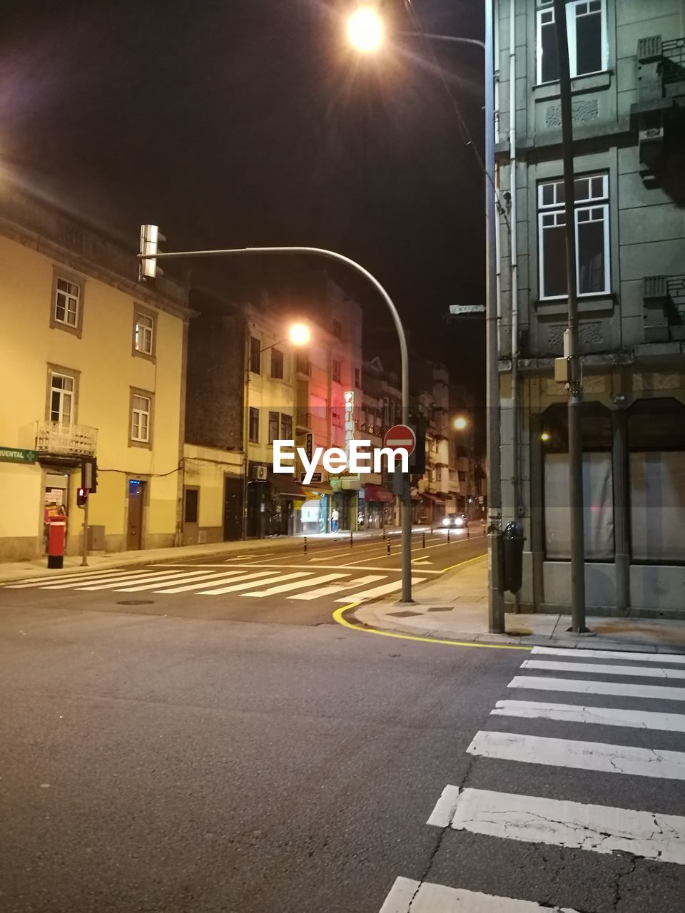 illuminated, night, building exterior, street, architecture, street light, built structure, transportation, outdoors, road, city, no people, sky