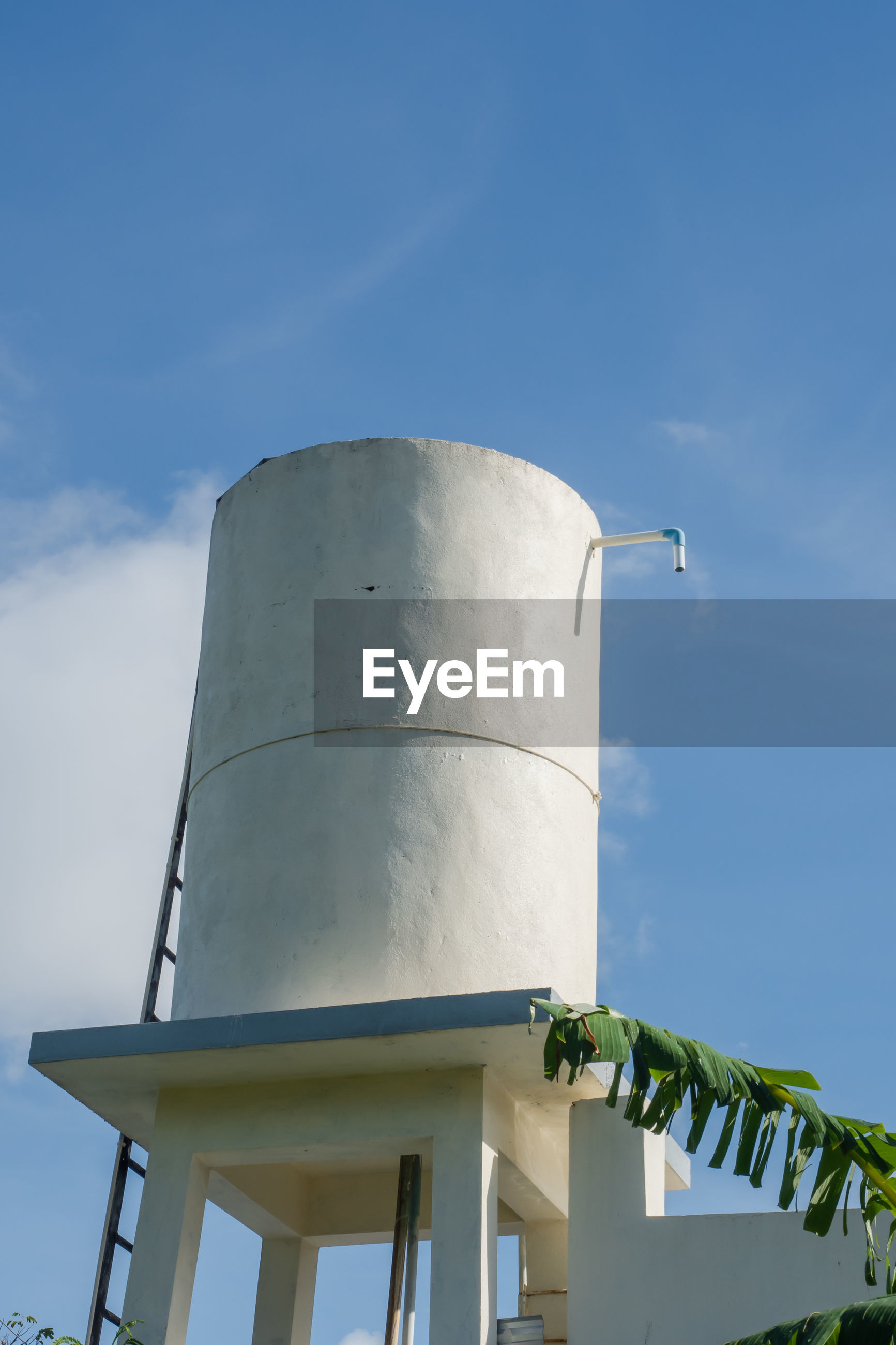 LOW ANGLE VIEW OF WATER TOWER