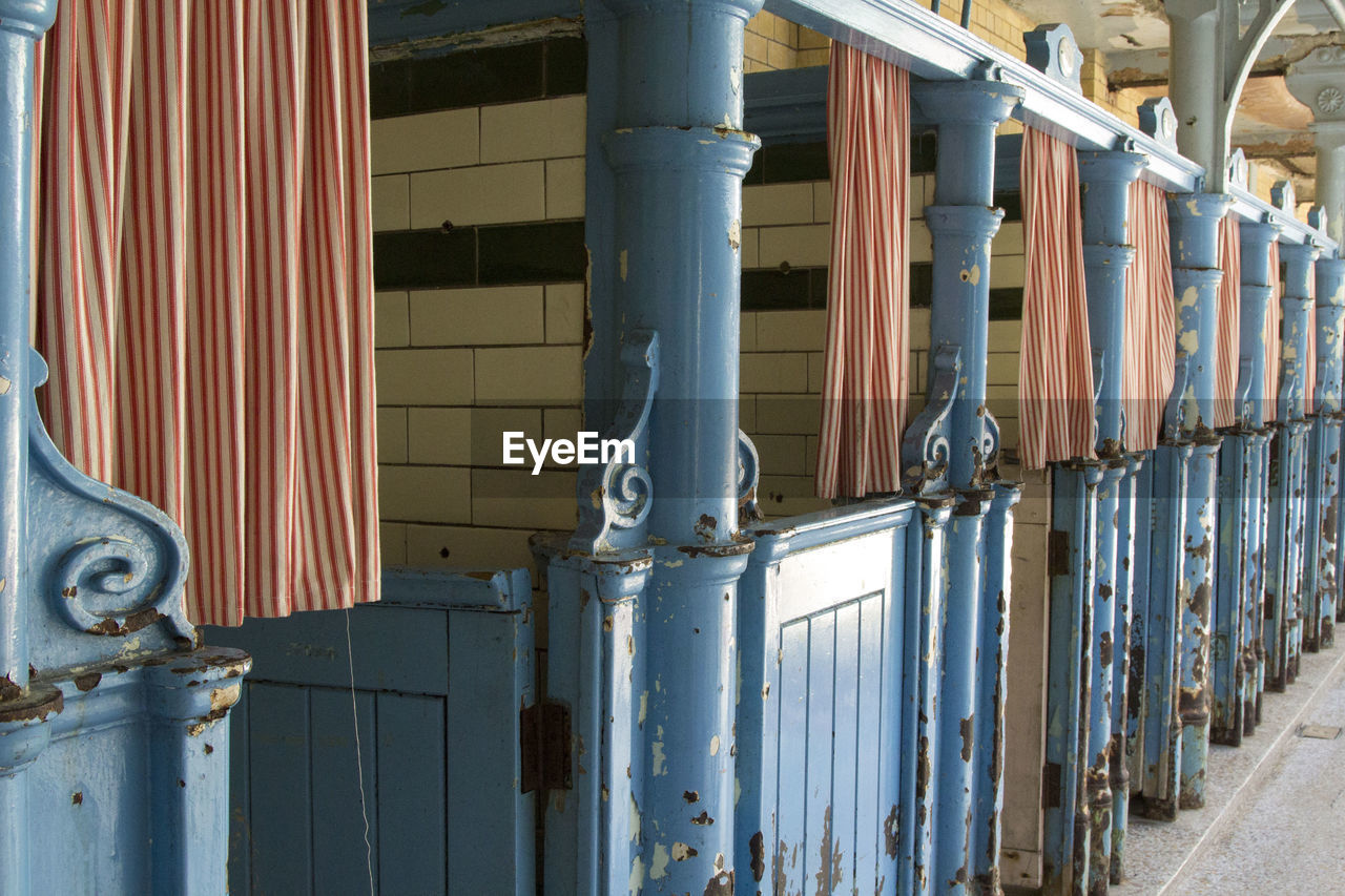 metal, pipe - tube, built structure, no people, factory, architecture, day, water pipe, corrugated iron, indoors