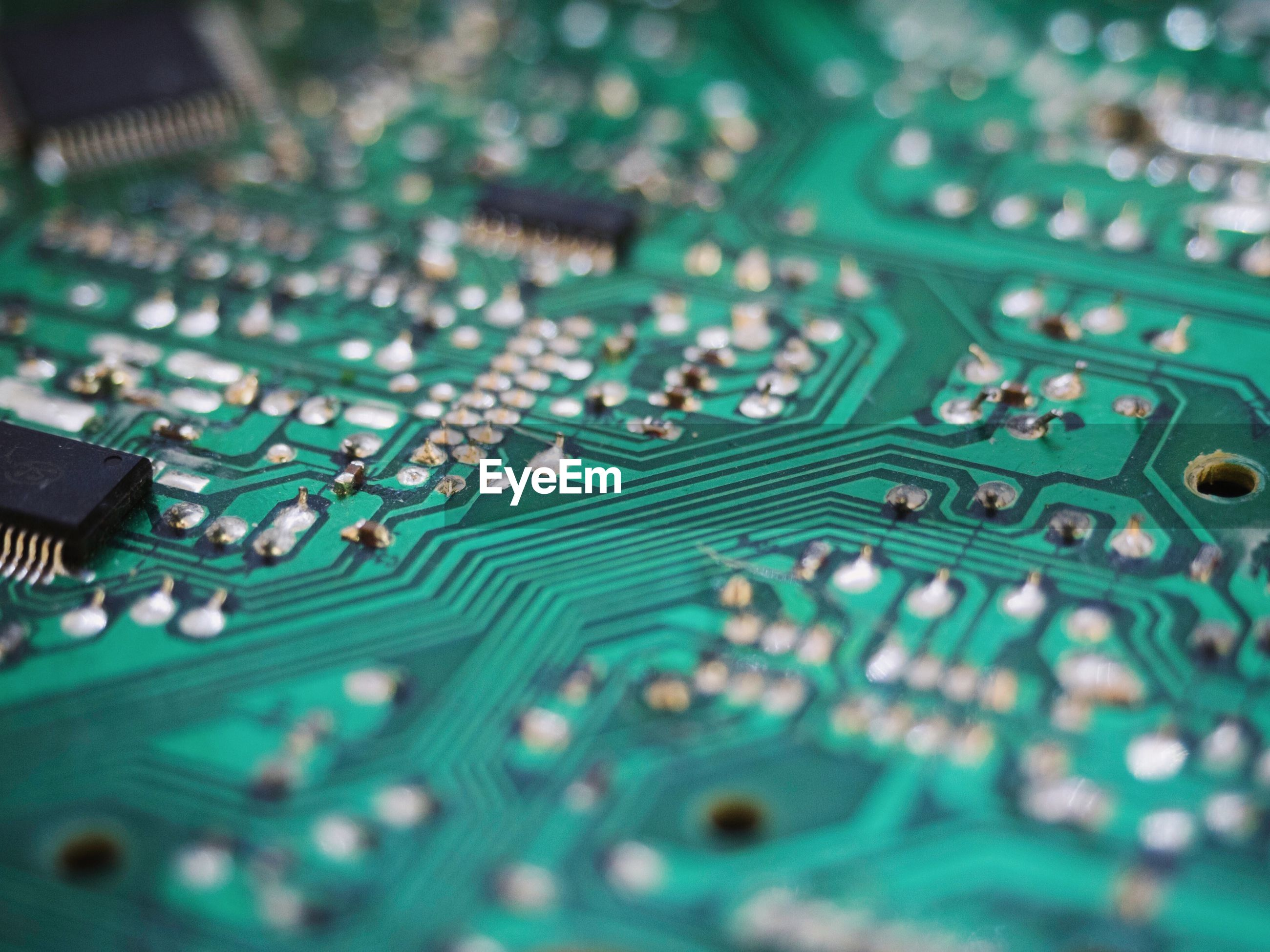 Full frame shot of circuit board
