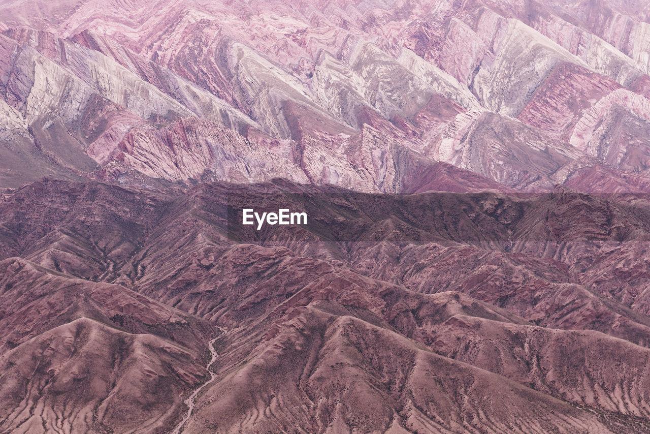 Full frame shot of mountains