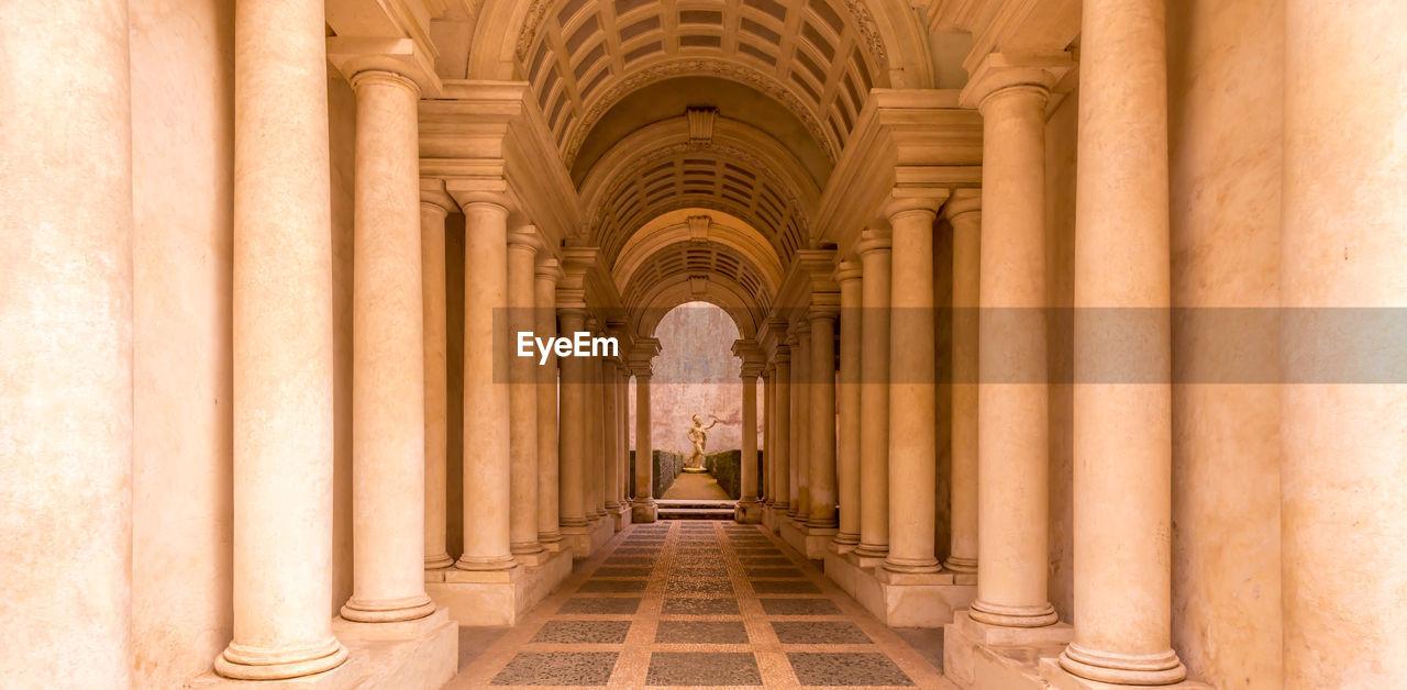Emoty corridor of building