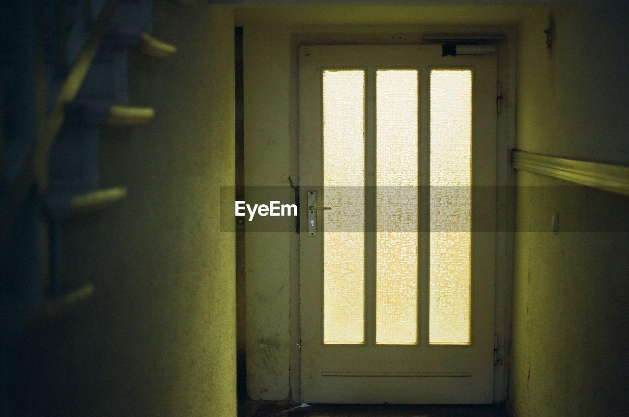 door, indoors, doorway, no people, close-up, day, open door, architecture