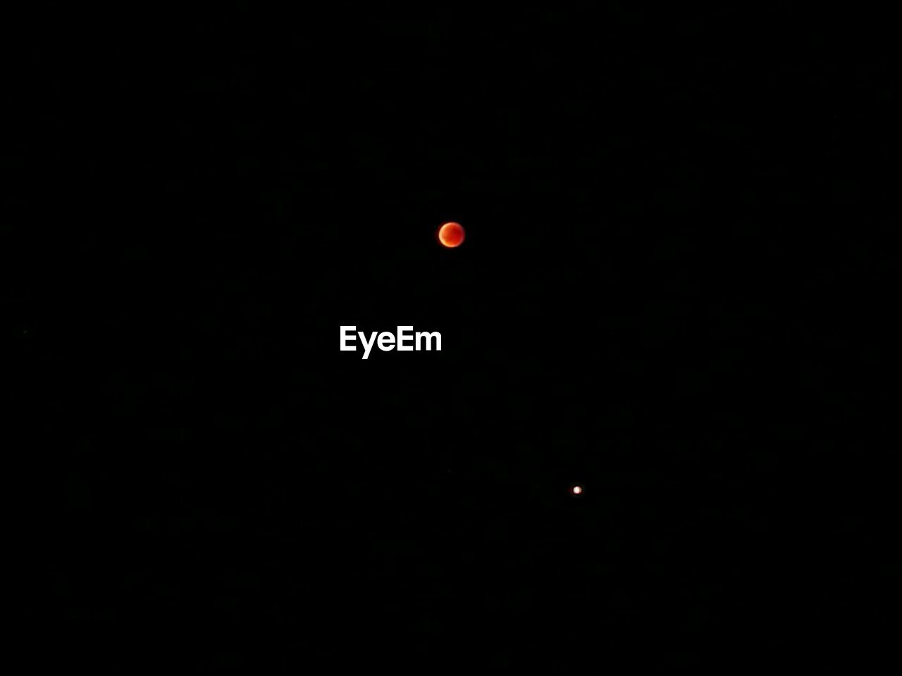 space, astronomy, no people, night, moon, copy space, sky, red, beauty in nature, nature, scenics - nature, outdoors, tranquility, tranquil scene, eclipse, dark, discovery, black color, clear sky, space exploration, planetary moon