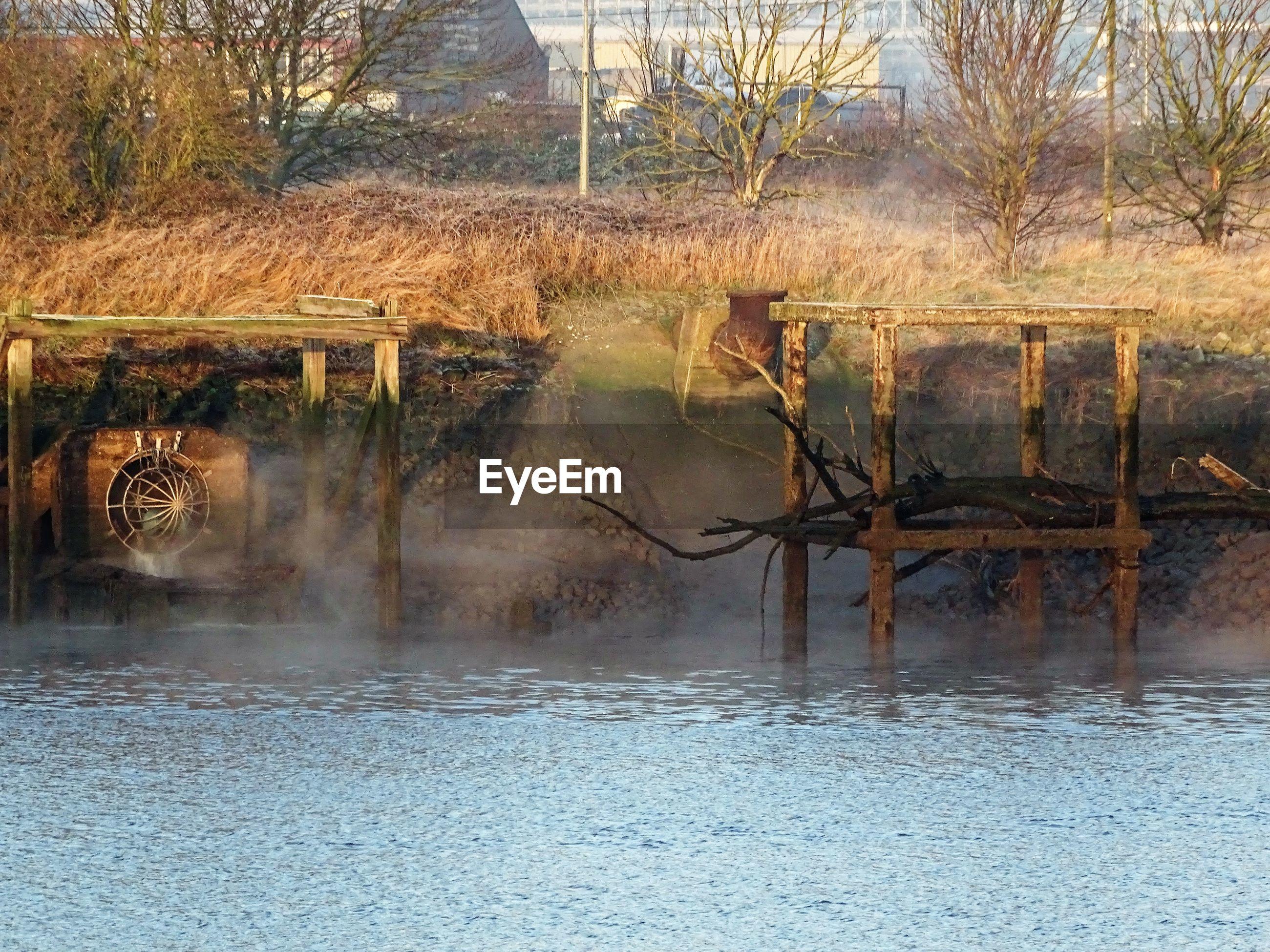 River by field