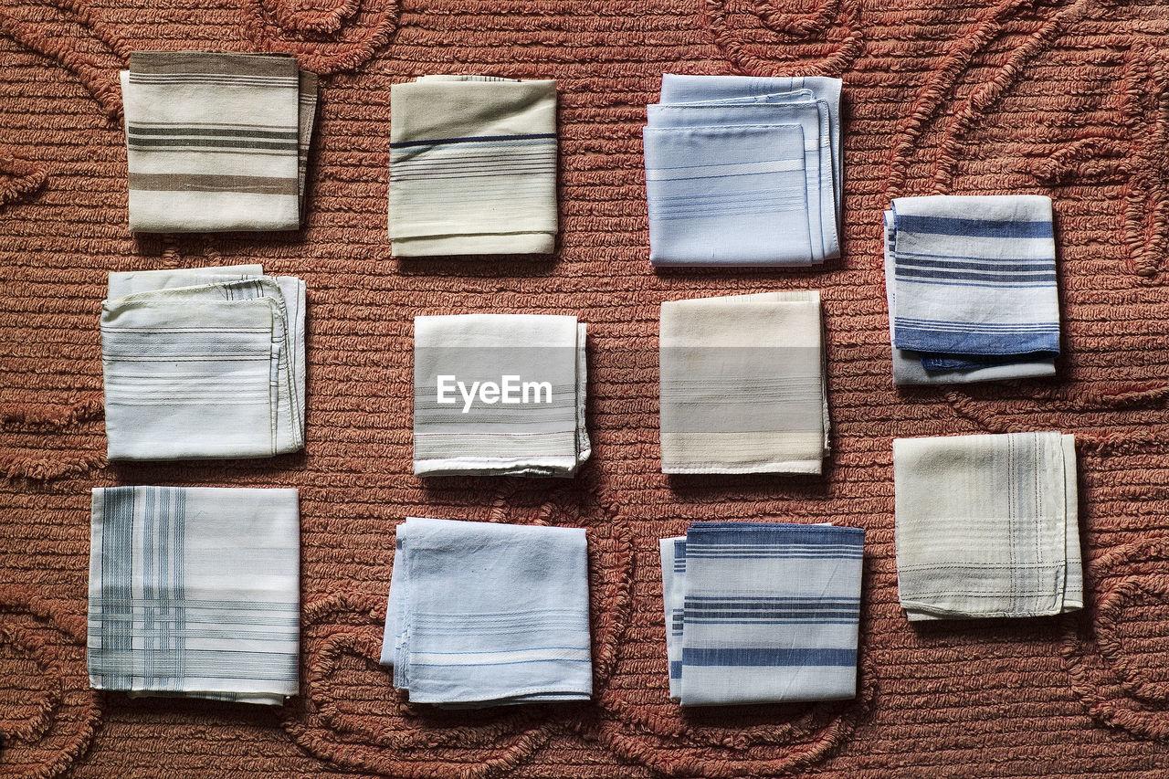 Close Up Of Handkerchiefs