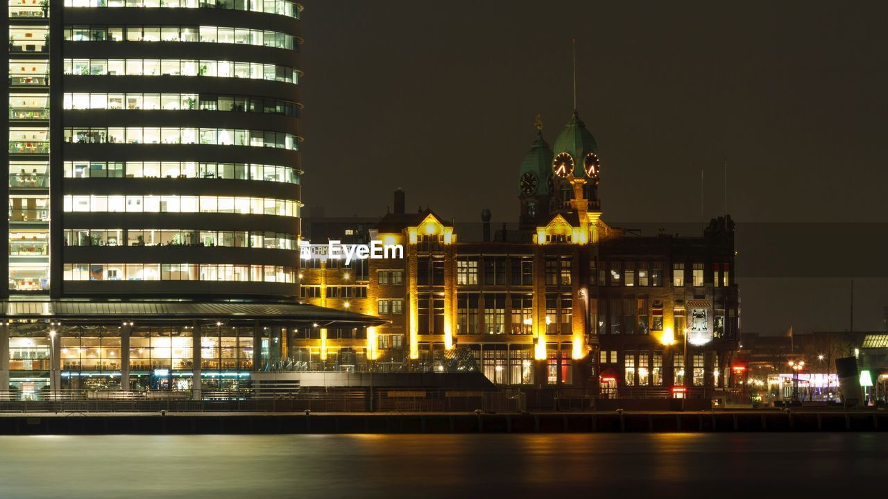 night, illuminated, architecture, building exterior, built structure, city, no people, travel destinations, outdoors, cityscape, sky, water