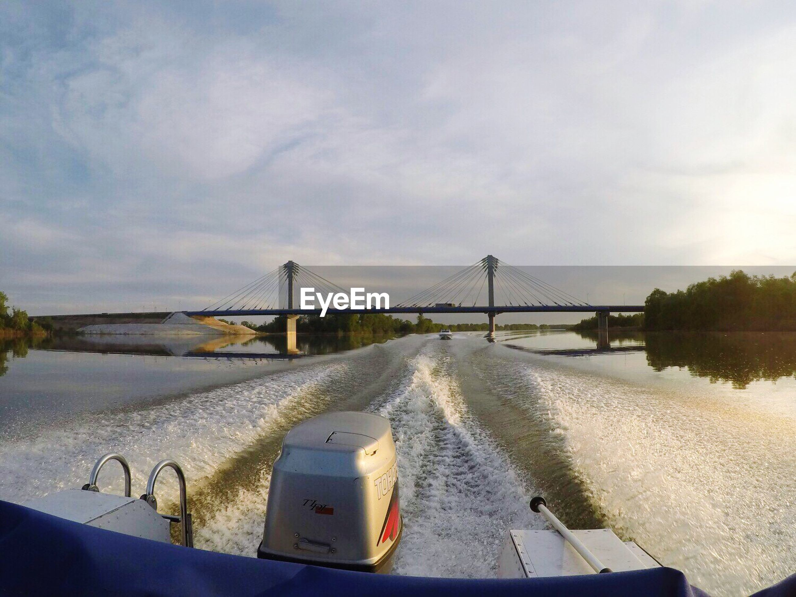 water, transportation, sky, day, no people, outdoors, river, bridge - man made structure, architecture, built structure, nature, nautical vessel