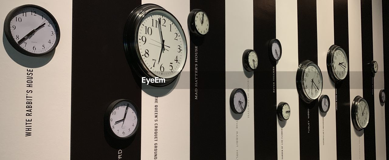 clock, indoors, time, close-up, number, wall - building feature, gauge, no people, instrument of measurement, technology, accuracy, instrument of time, shape, circle, still life, machinery, geometric shape, communication, equipment, wall clock, minute hand