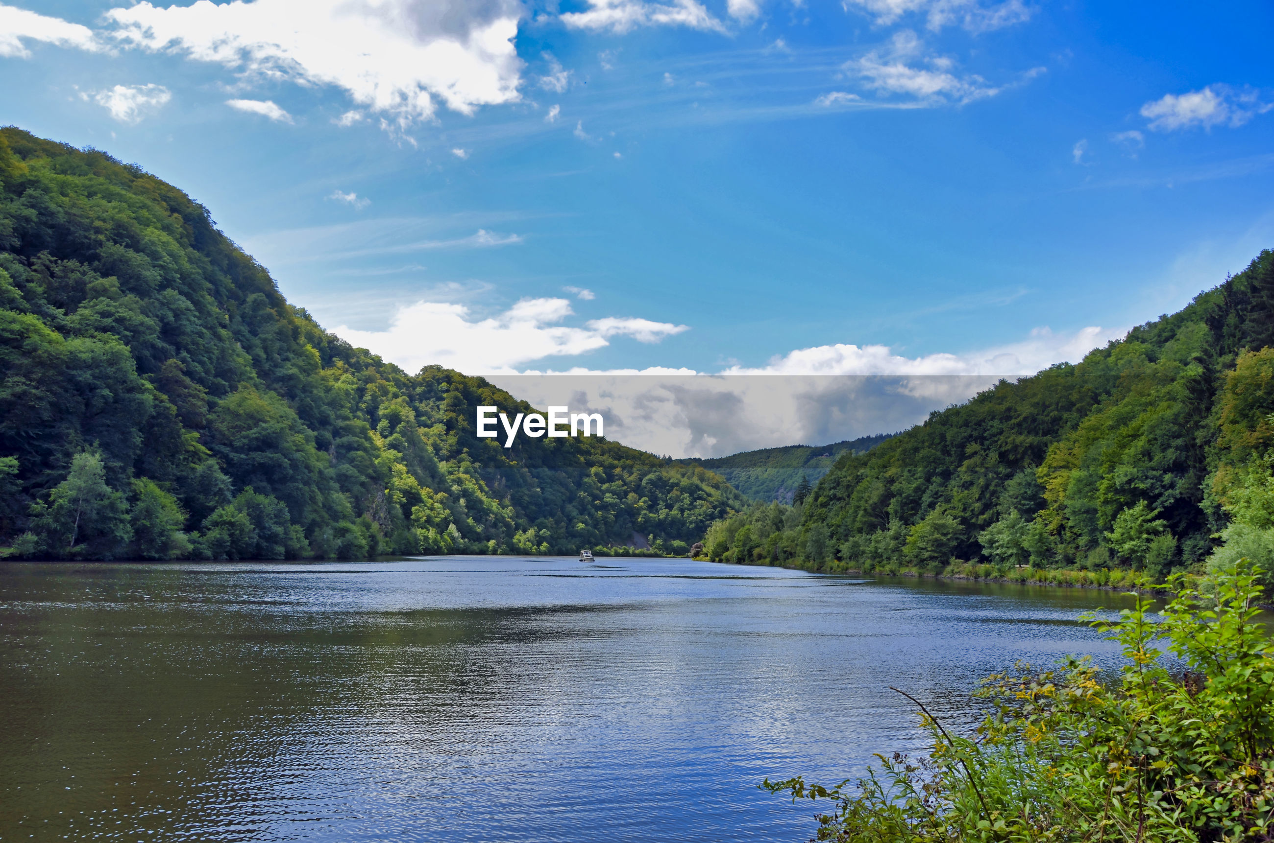 Nature and technology along the saar river