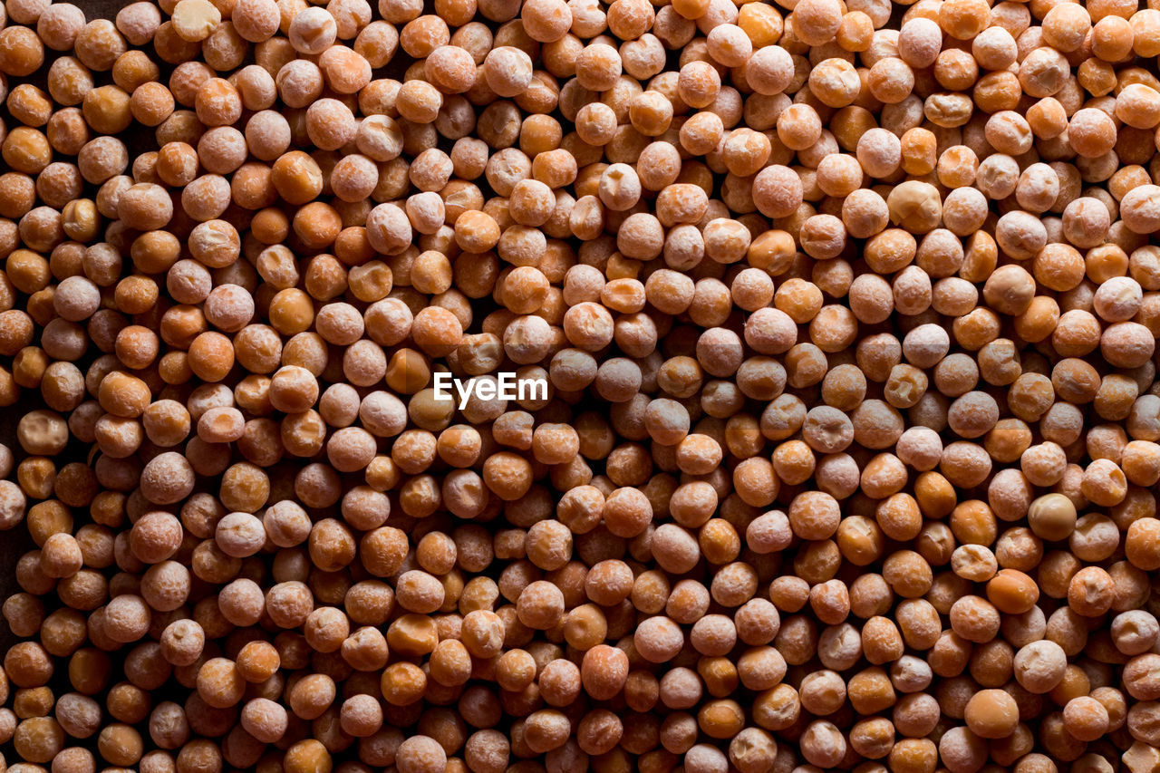 Chickpea background. dry chickpeas. a large number of legumes