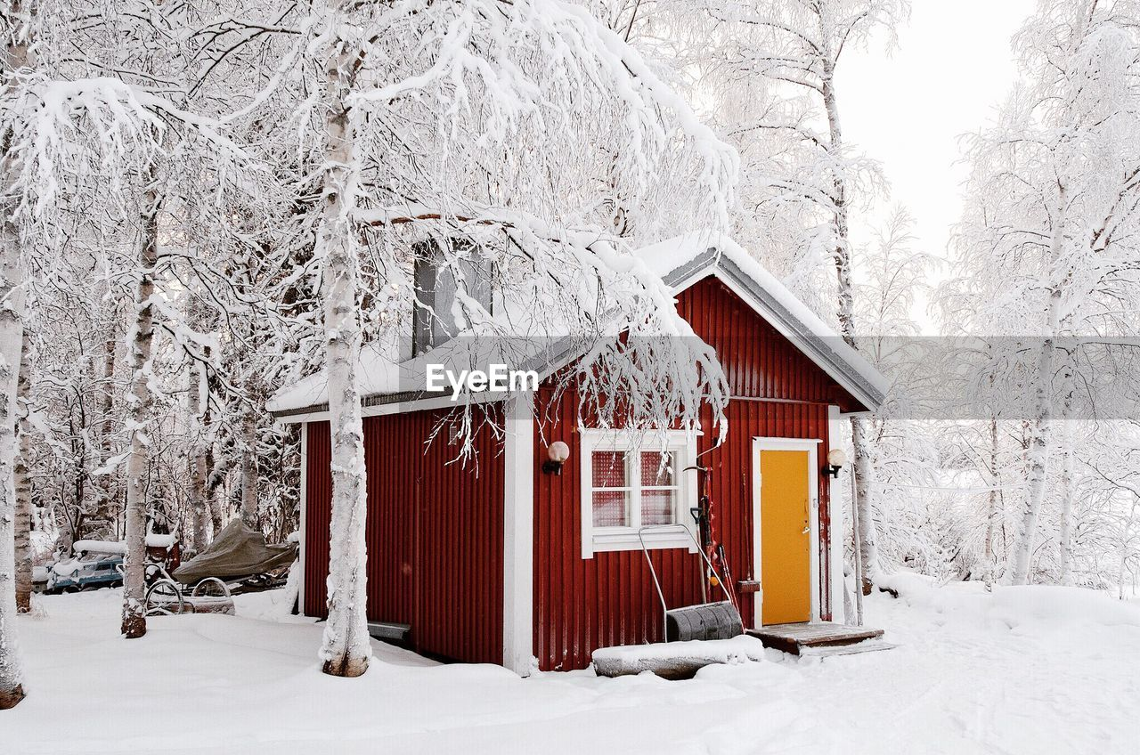 winter, snow, cold temperature, built structure, building exterior, architecture, frozen, outdoors, nature, tree, no people, beauty in nature, day