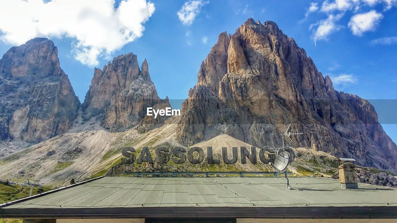 mountain, sky, day, rock - object, rock formation, mountain range, cloud - sky, nature, outdoors, scenics, physical geography, no people, rocky mountains, travel destinations, beauty in nature
