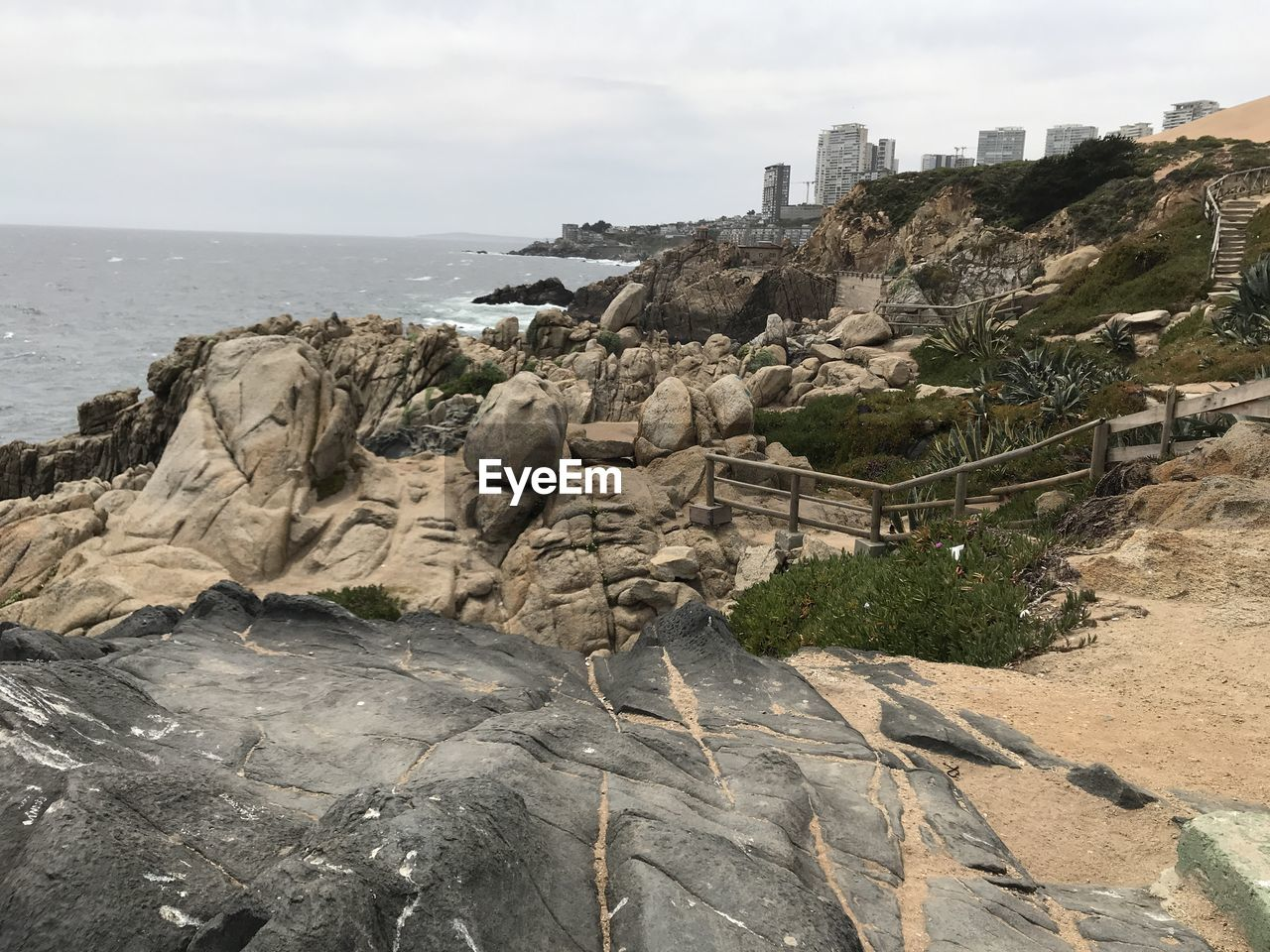 sky, sea, architecture, rock, built structure, rock - object, nature, day, no people, building exterior, water, land, beauty in nature, solid, beach, scenics - nature, rock formation, outdoors, tranquil scene, eroded