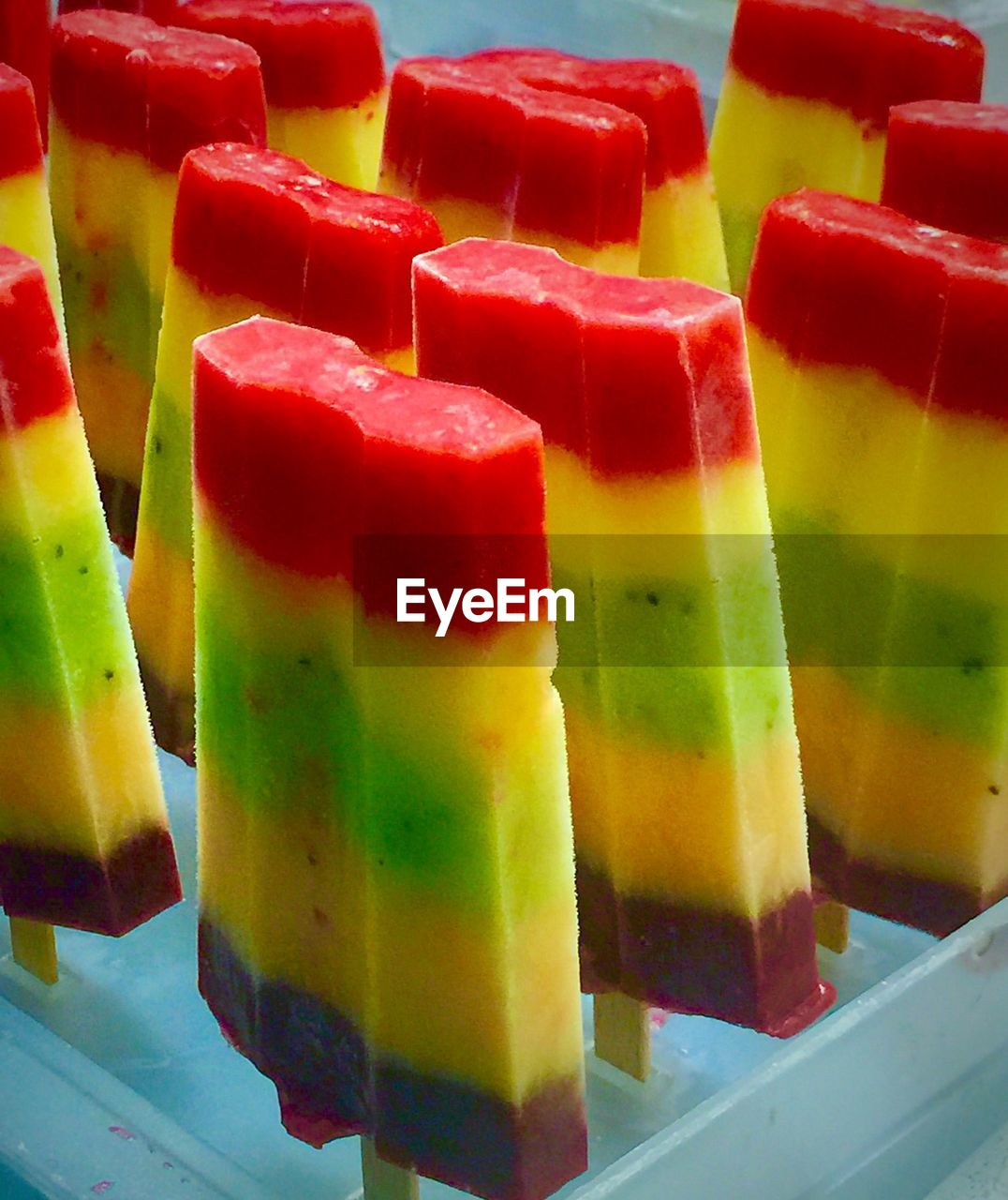 food and drink, multi colored, sweet food, food, still life, indulgence, indoors, freshness, dessert, no people, temptation, ready-to-eat, close-up, red, gelatin dessert, flavored ice, day