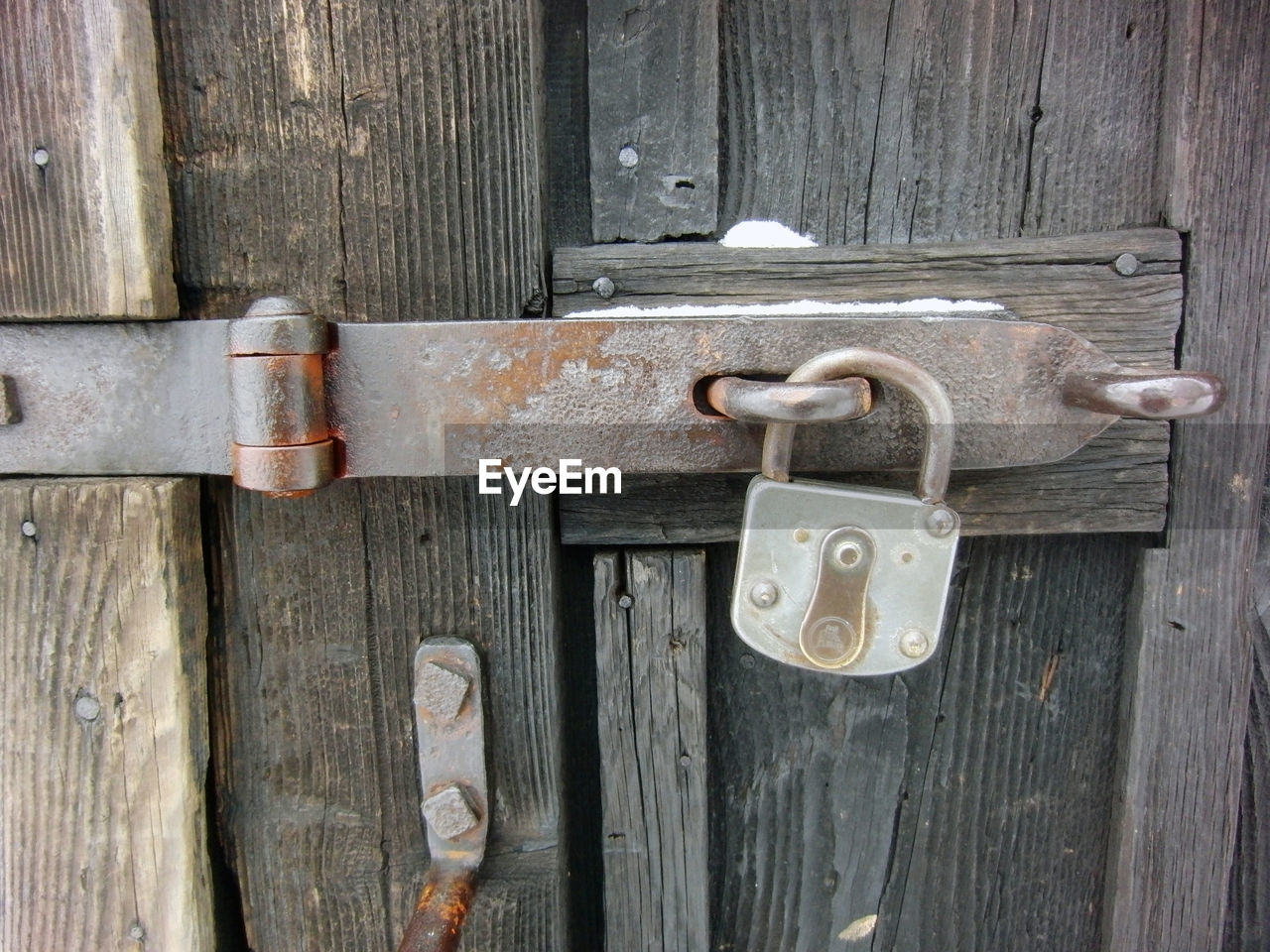 door, padlock, lock, security, safety, protection, wood - material, closed, metal, latch, outdoors, close-up, key, gate, no people, old-fashioned, doorway, day, rusty, hanging, privacy