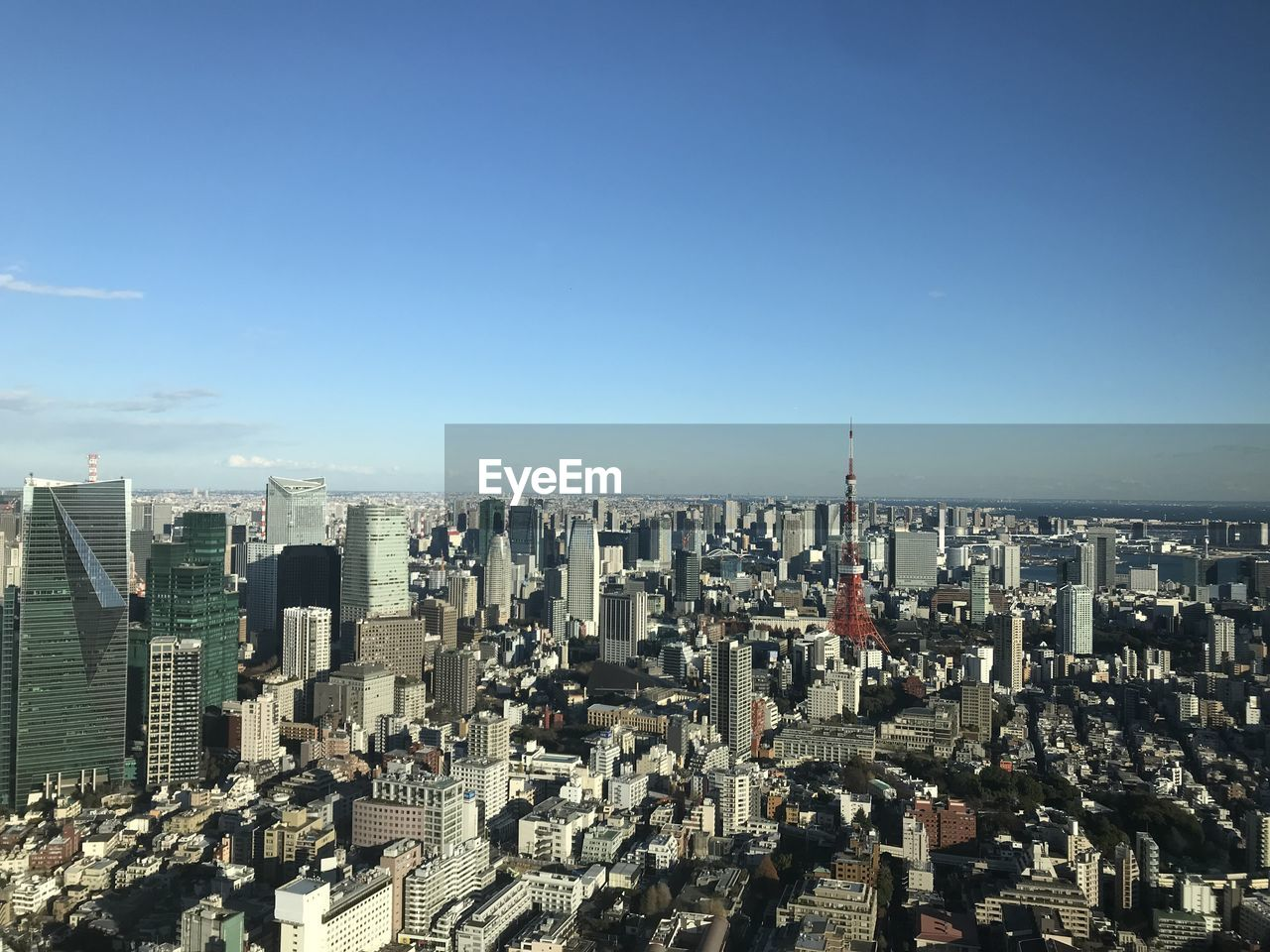architecture, cityscape, city, building exterior, skyscraper, built structure, no people, outdoors, modern, day, clear sky, travel destinations, blue, sky, urban skyline