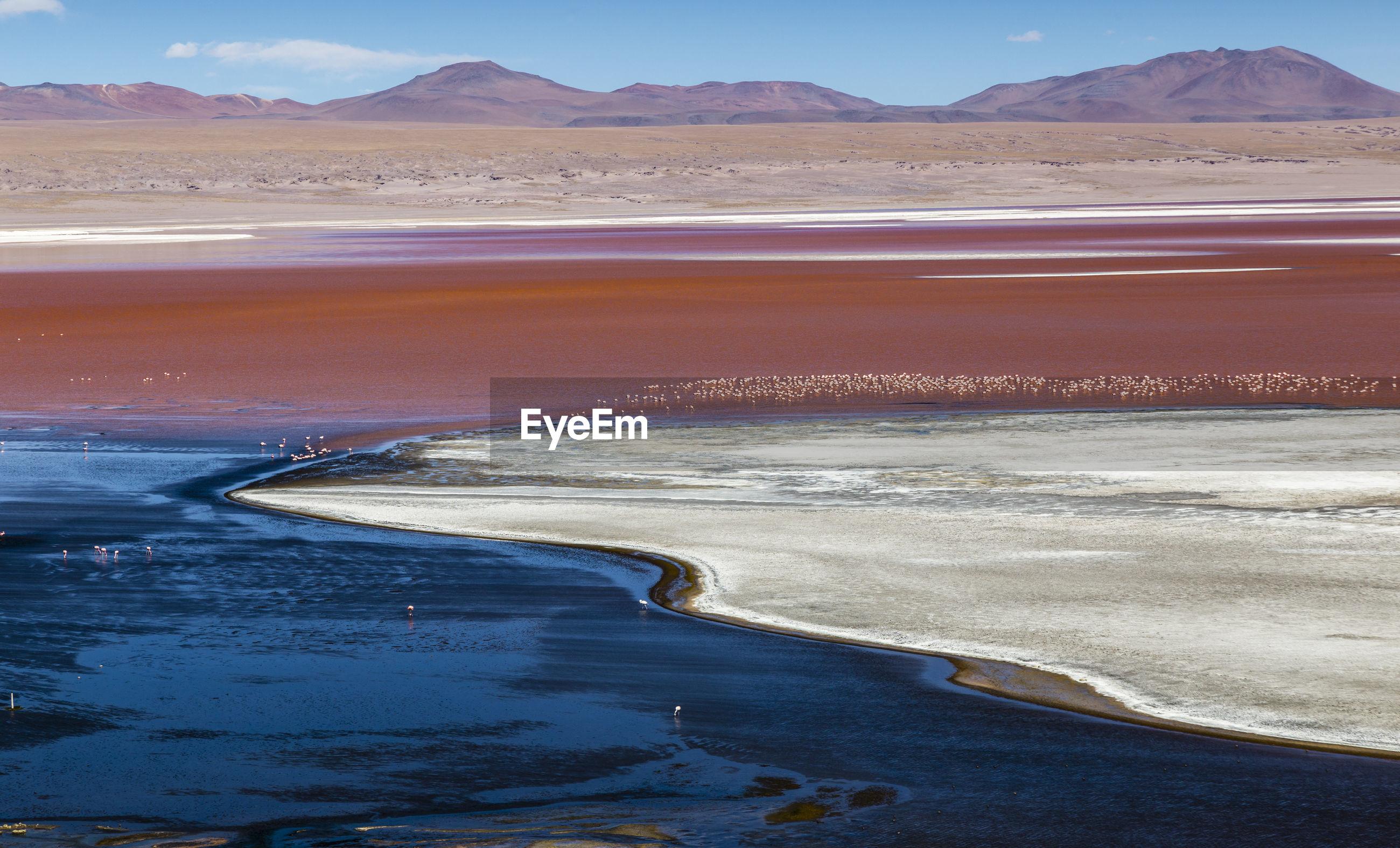 Scenic landscape in bolivia