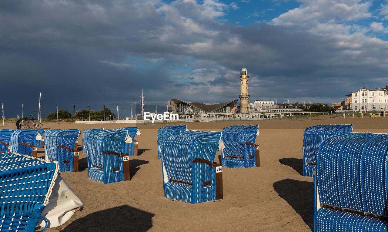 VIEW OF BLUE BEACH