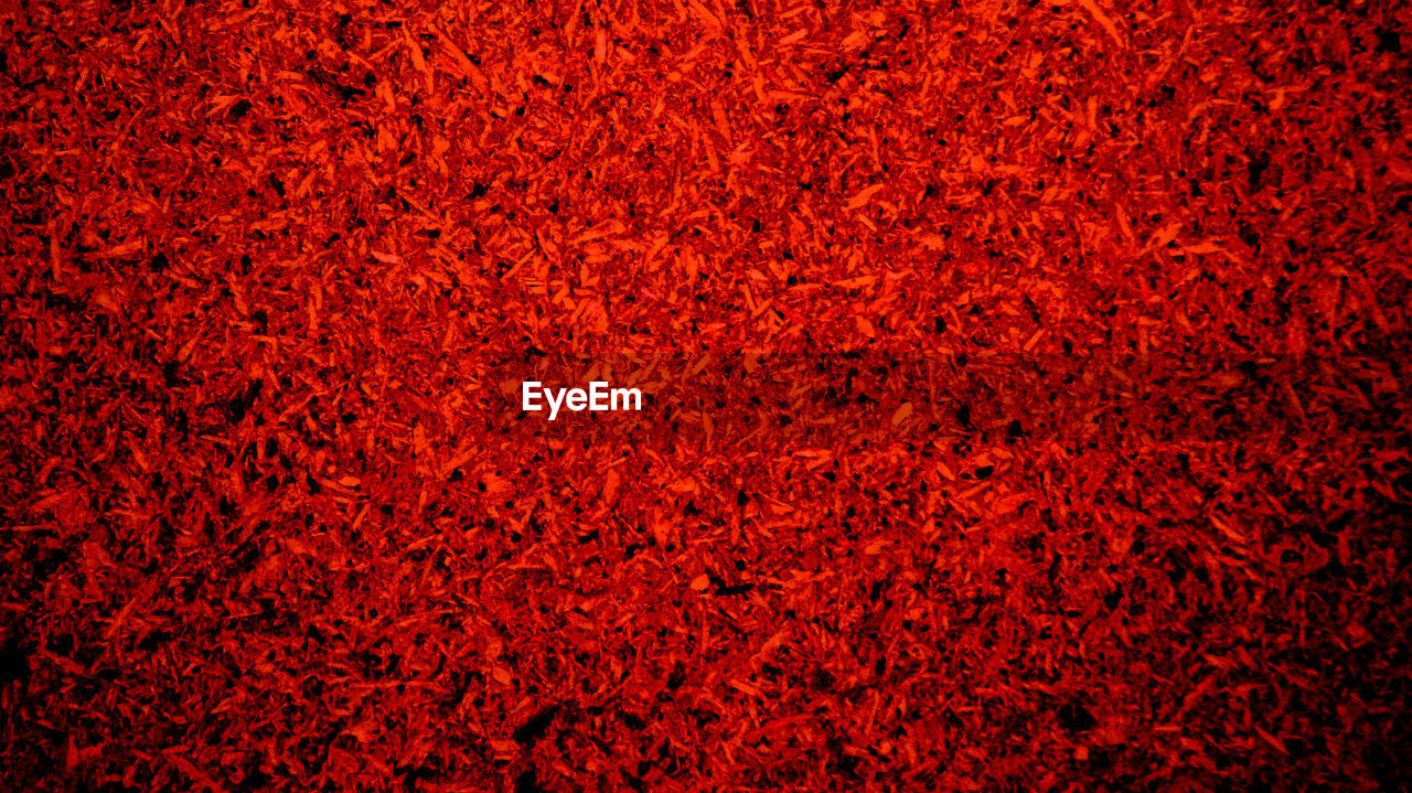 red, backgrounds, full frame, textured, no people, close-up, abstract, pattern, rough, nature, healthy lifestyle, outdoors, grass, fruit, vibrant color, textured effect, heat - temperature, orange color, dry, blank