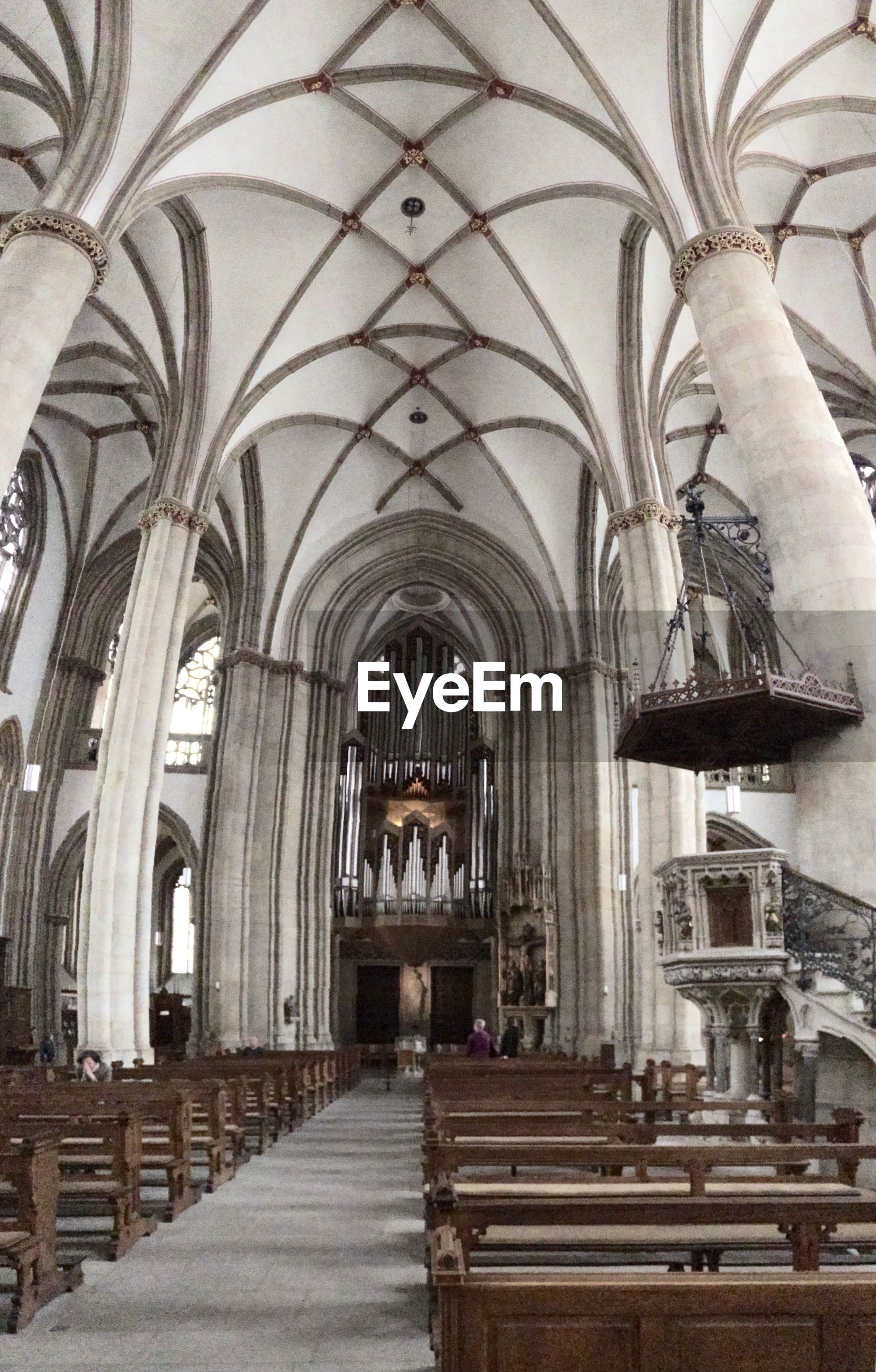 arch, indoors, religion, architecture, place of worship, built structure, spirituality, church, ceiling, the way forward, architectural column, archway, corridor, cathedral, day, in a row, incidental people, pew