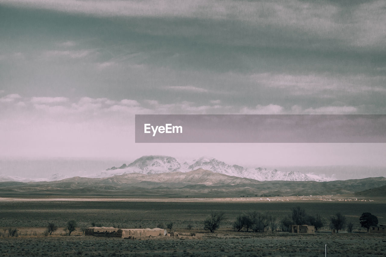 Panoramic View Of Rural Landscape