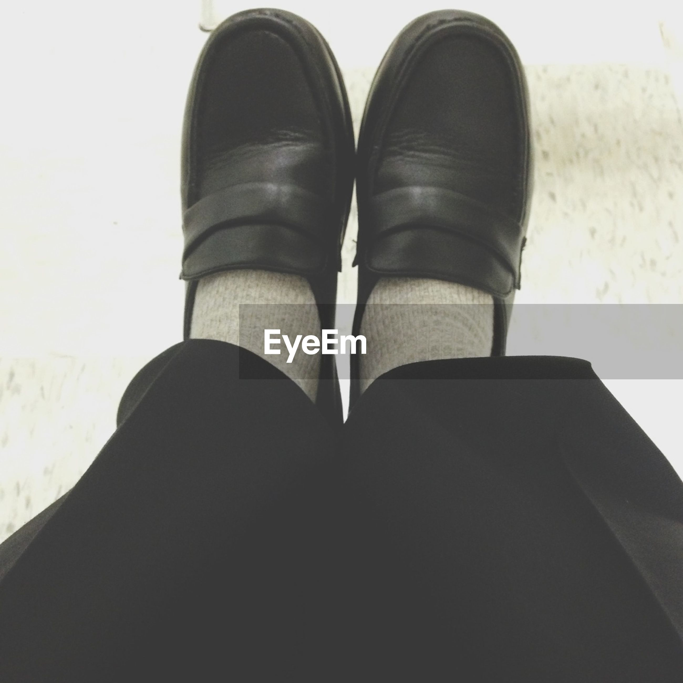 low section, person, shoe, personal perspective, footwear, lifestyles, standing, human foot, men, jeans, close-up, leisure activity, fashion, unrecognizable person, human limb, part of