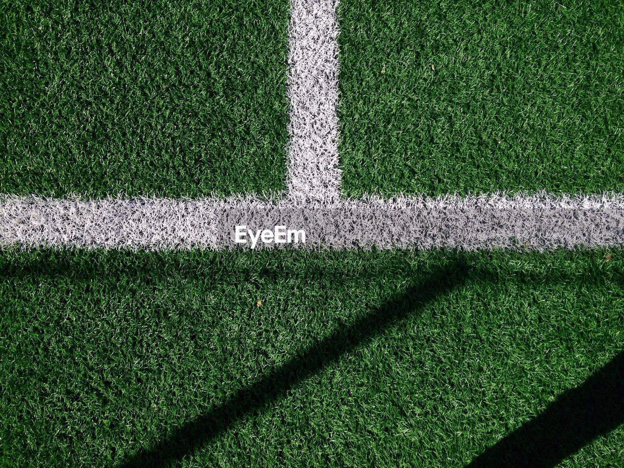 Directly Above View Of Soccer Field