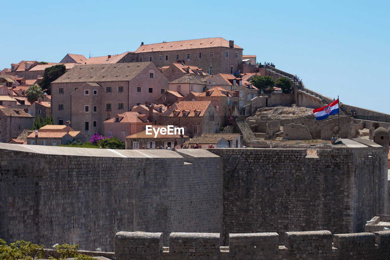 View of castle against sky