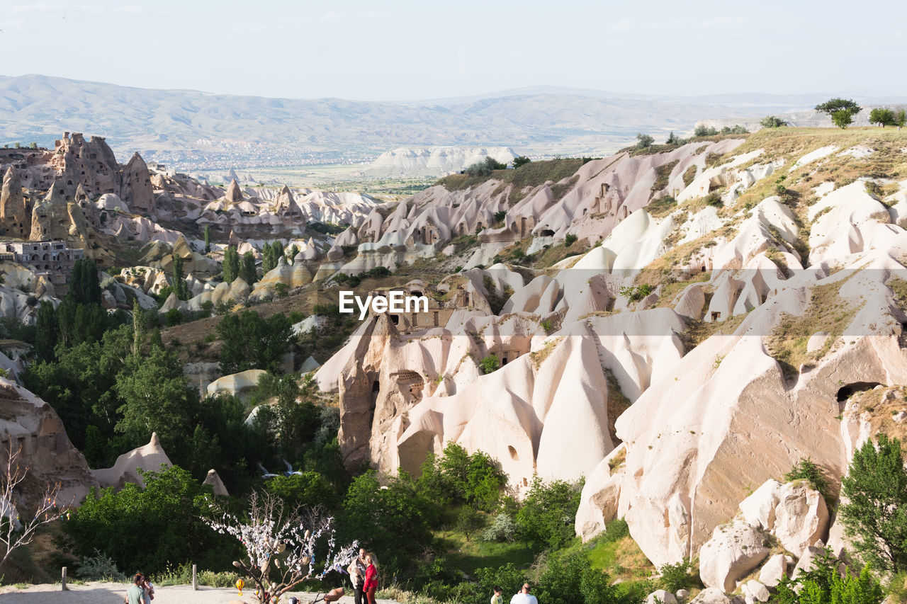 mountain, rock, nature, beauty in nature, rock - object, scenics - nature, sky, rock formation, day, solid, plant, landscape, environment, no people, tranquility, tree, architecture, tranquil scene, non-urban scene, travel destinations, outdoors, eroded