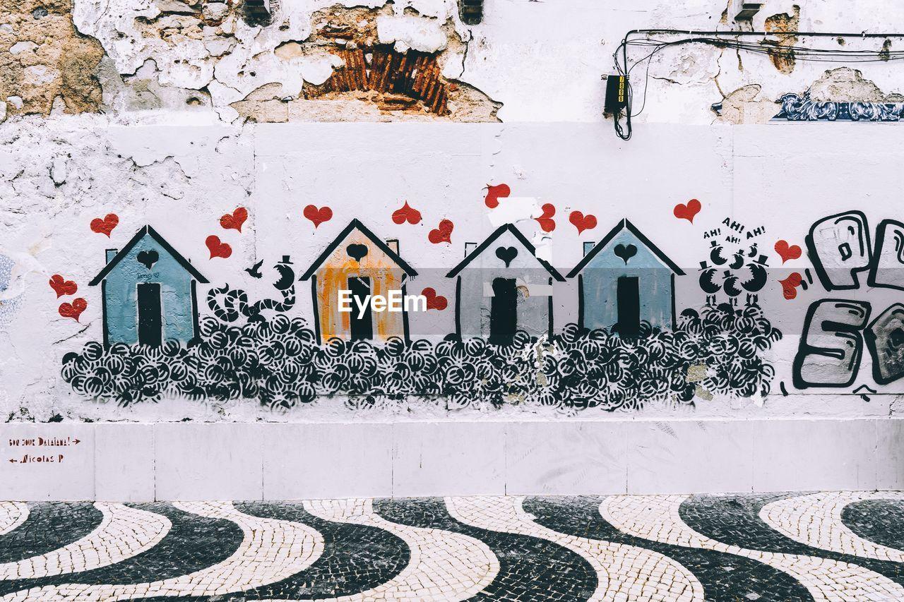 GRAFFITI ON HOUSE