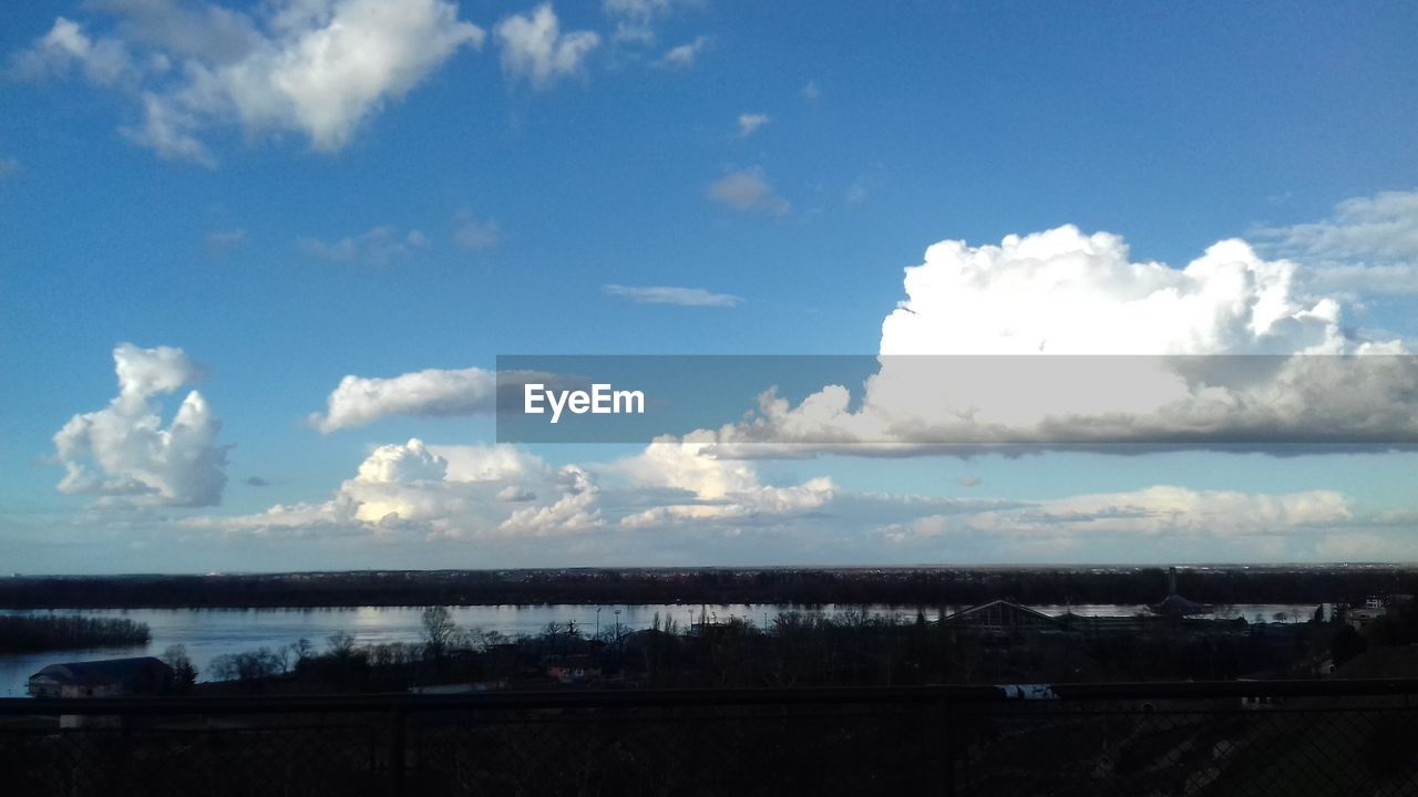 sky, cloud - sky, no people, beauty in nature, day, nature, outdoors, scenics, architecture, built structure, landscape, water, city